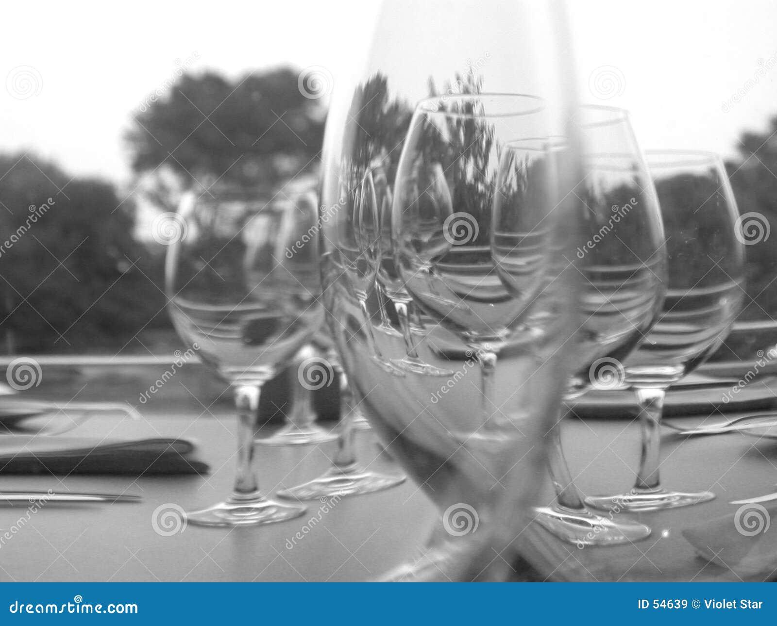 Vidrios de vino