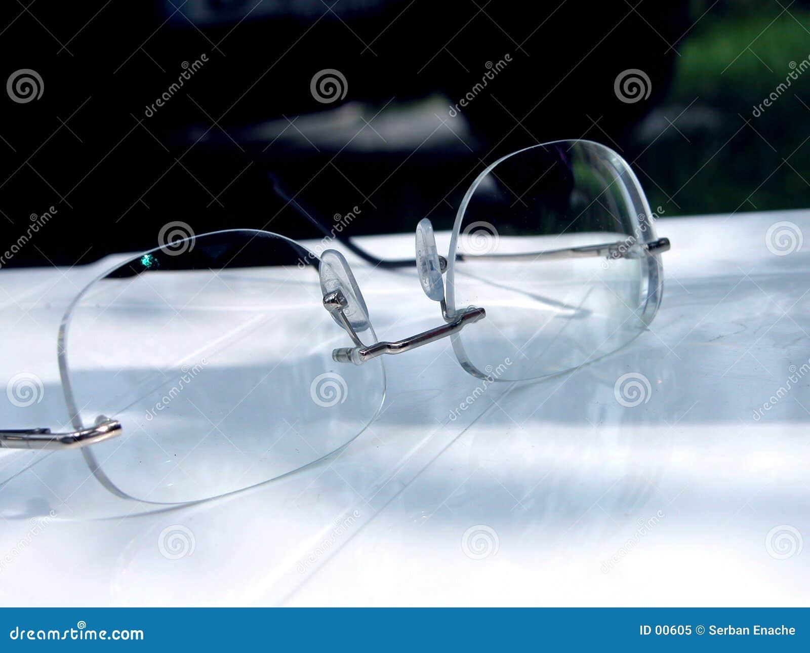 Vidrios del ojo