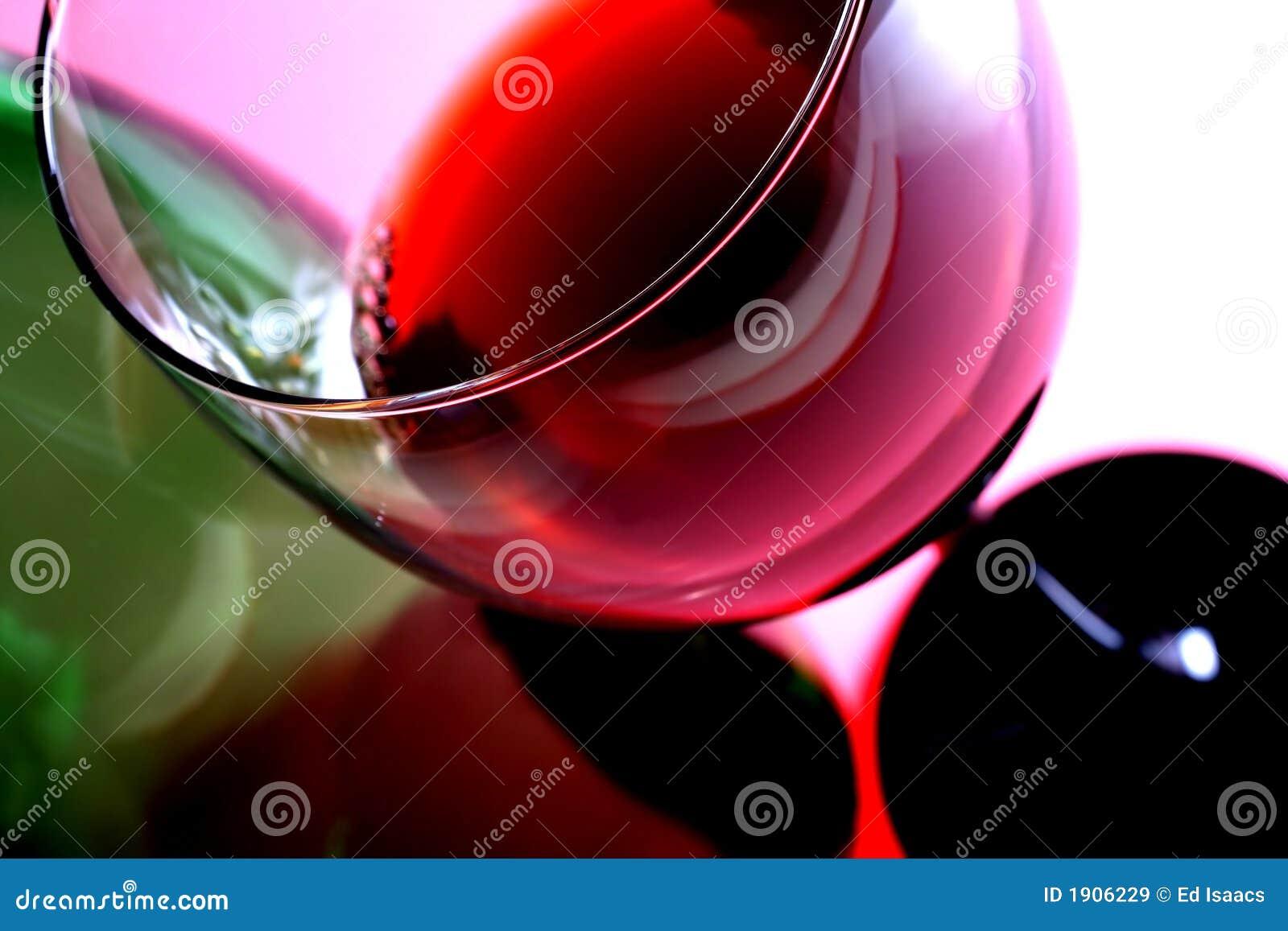 Vidro & frasco de vinho