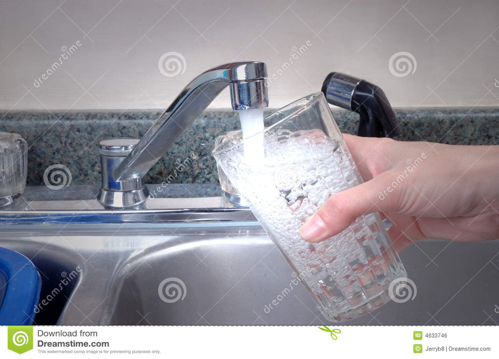 Vidro da água fresca