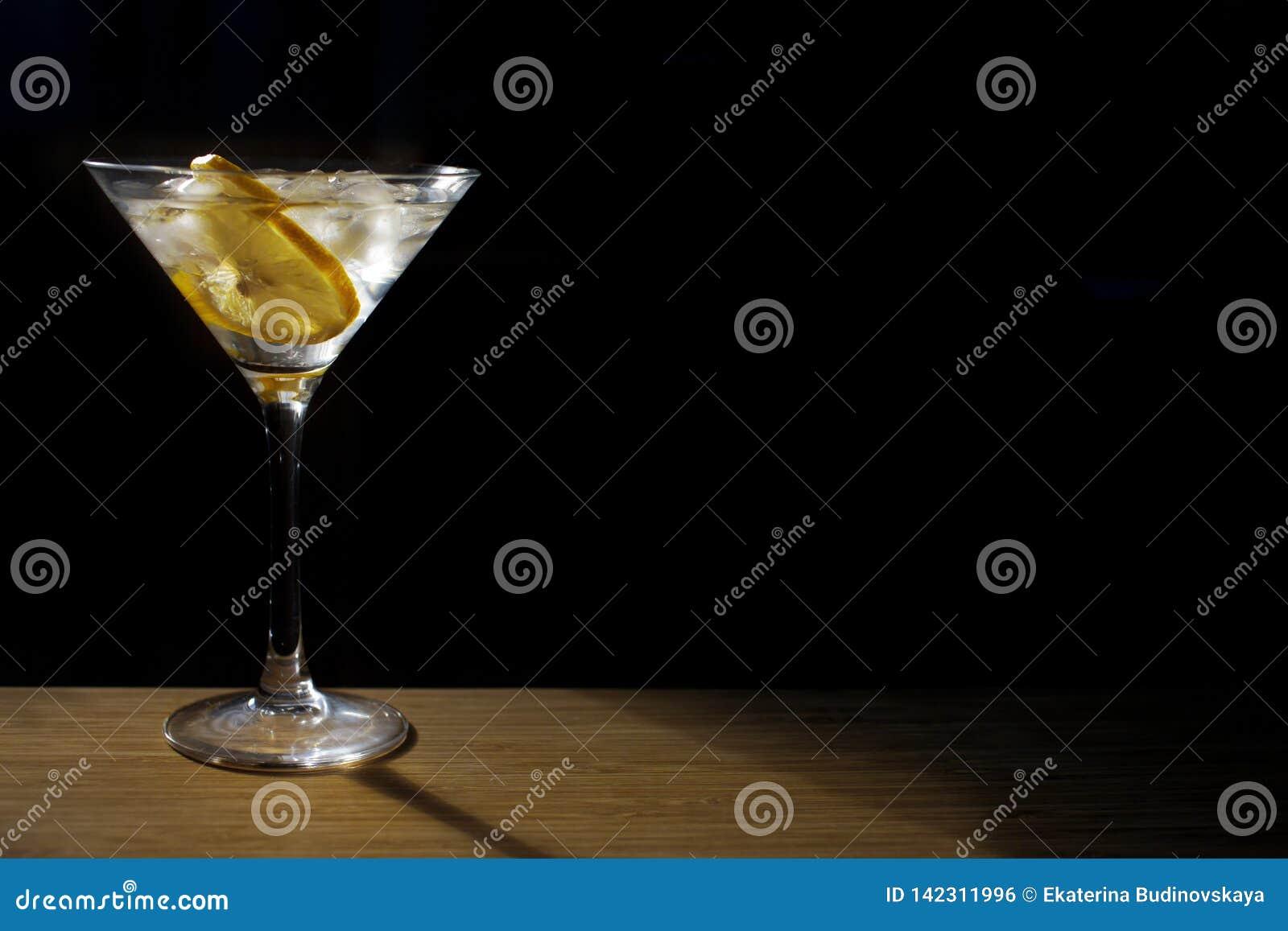 Vidro de cocktail de vidro
