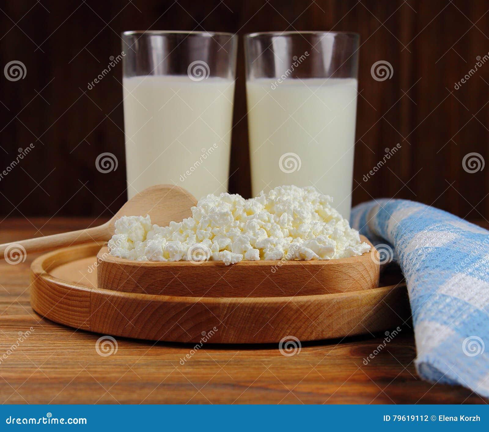 Vidro do requeijão e de leite, produtos láteos