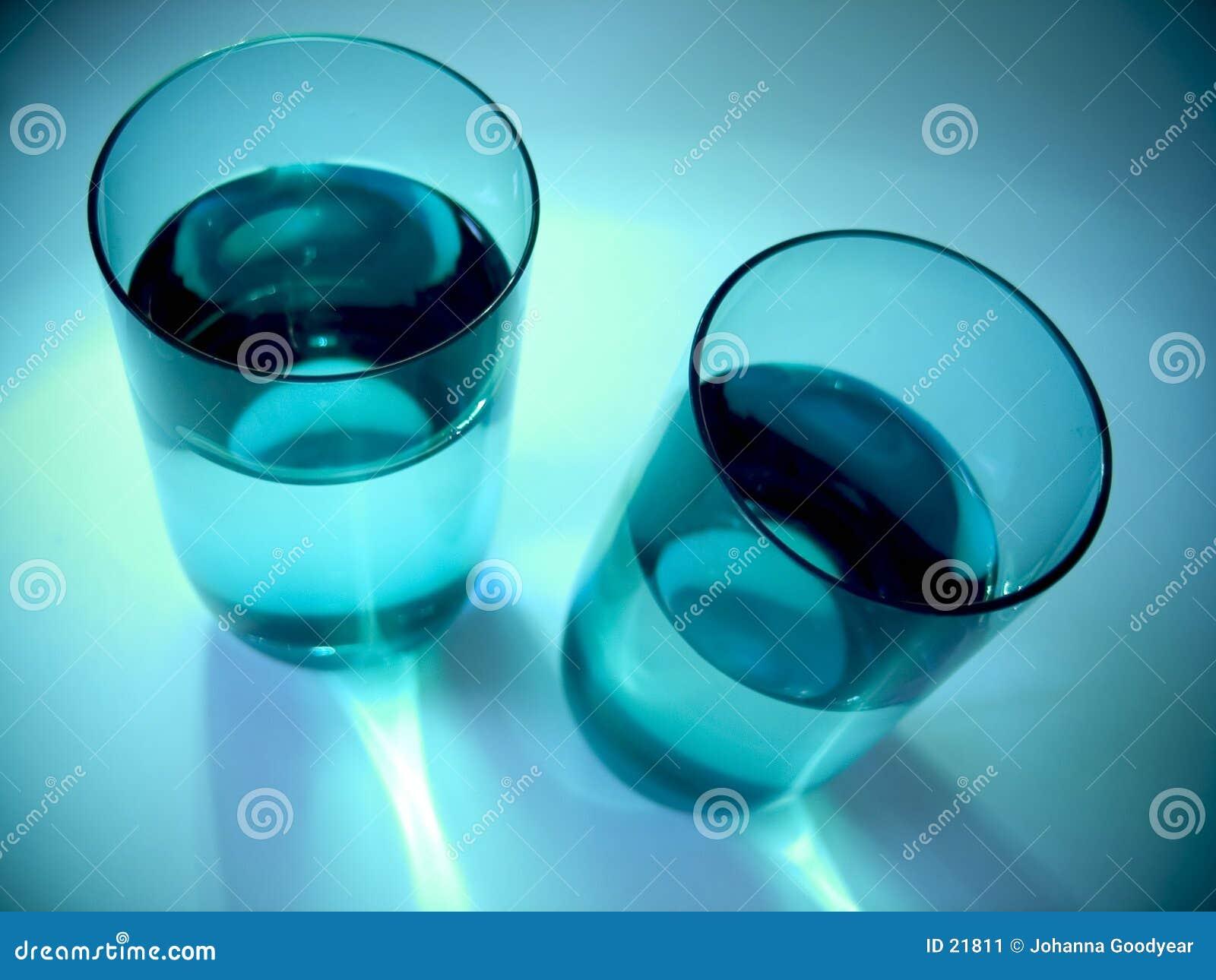 Vidros de água