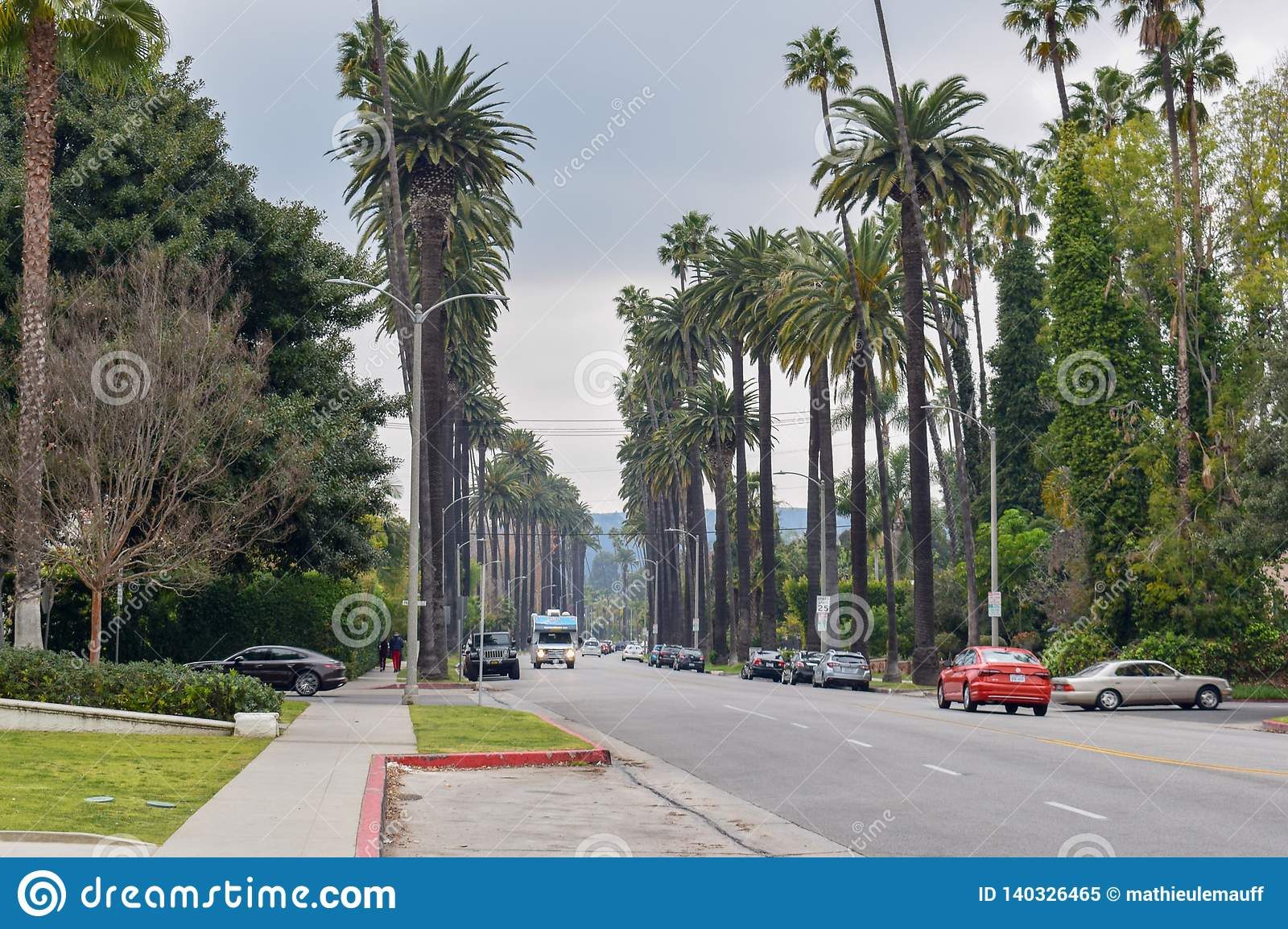 Vie di Beverly Hills, California