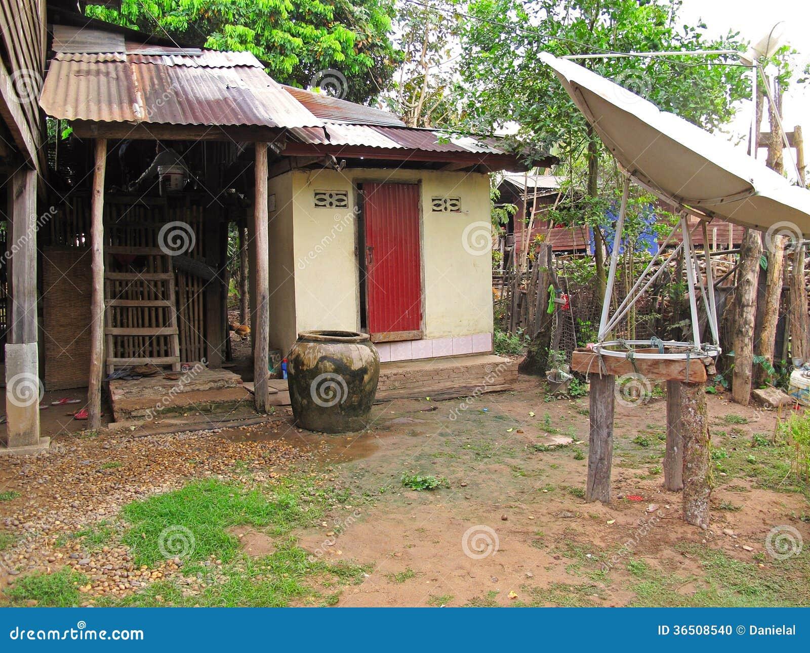 Vie locale au Laos