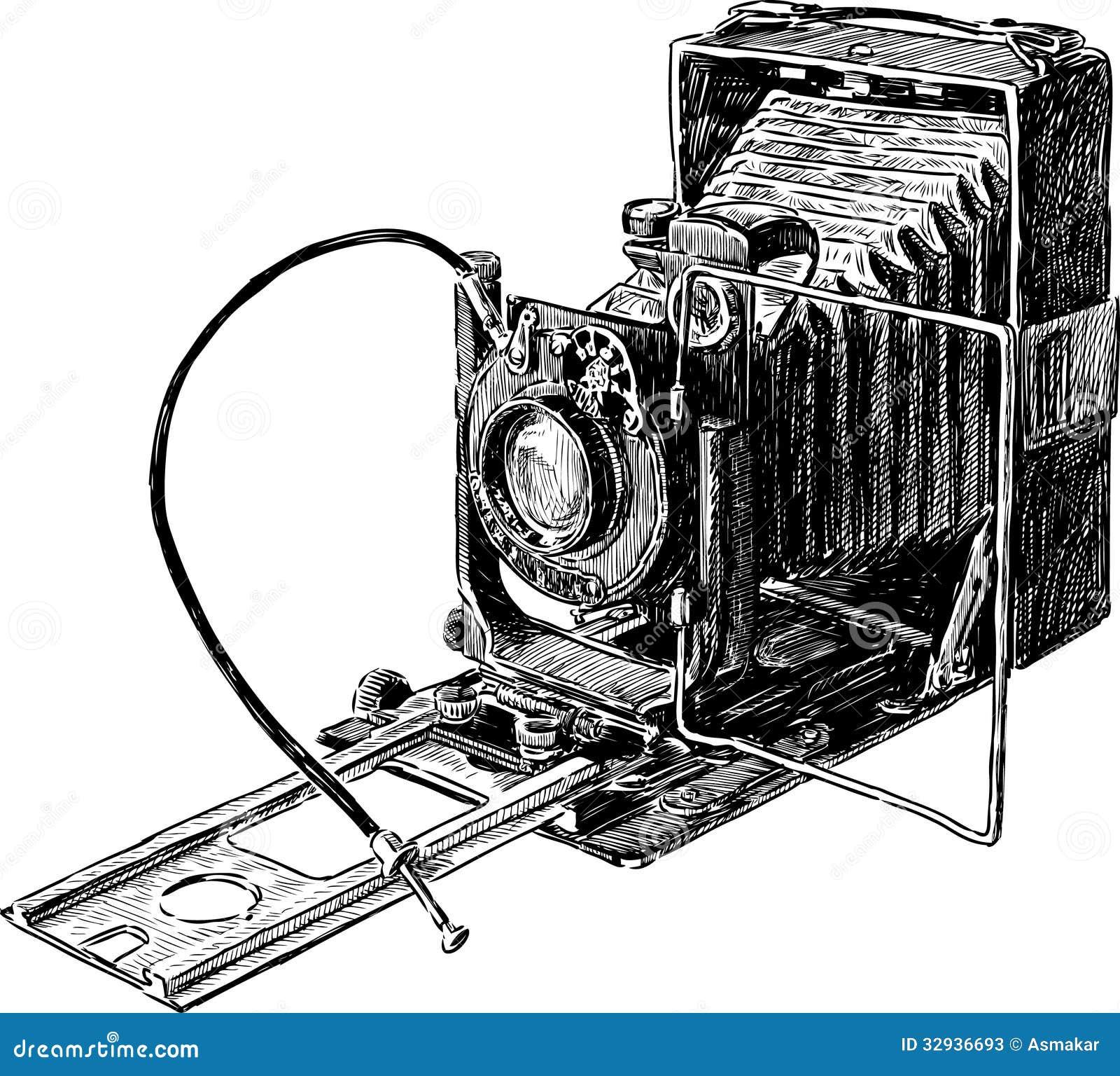 vieil appareil photo photos stock image 32936693. Black Bedroom Furniture Sets. Home Design Ideas