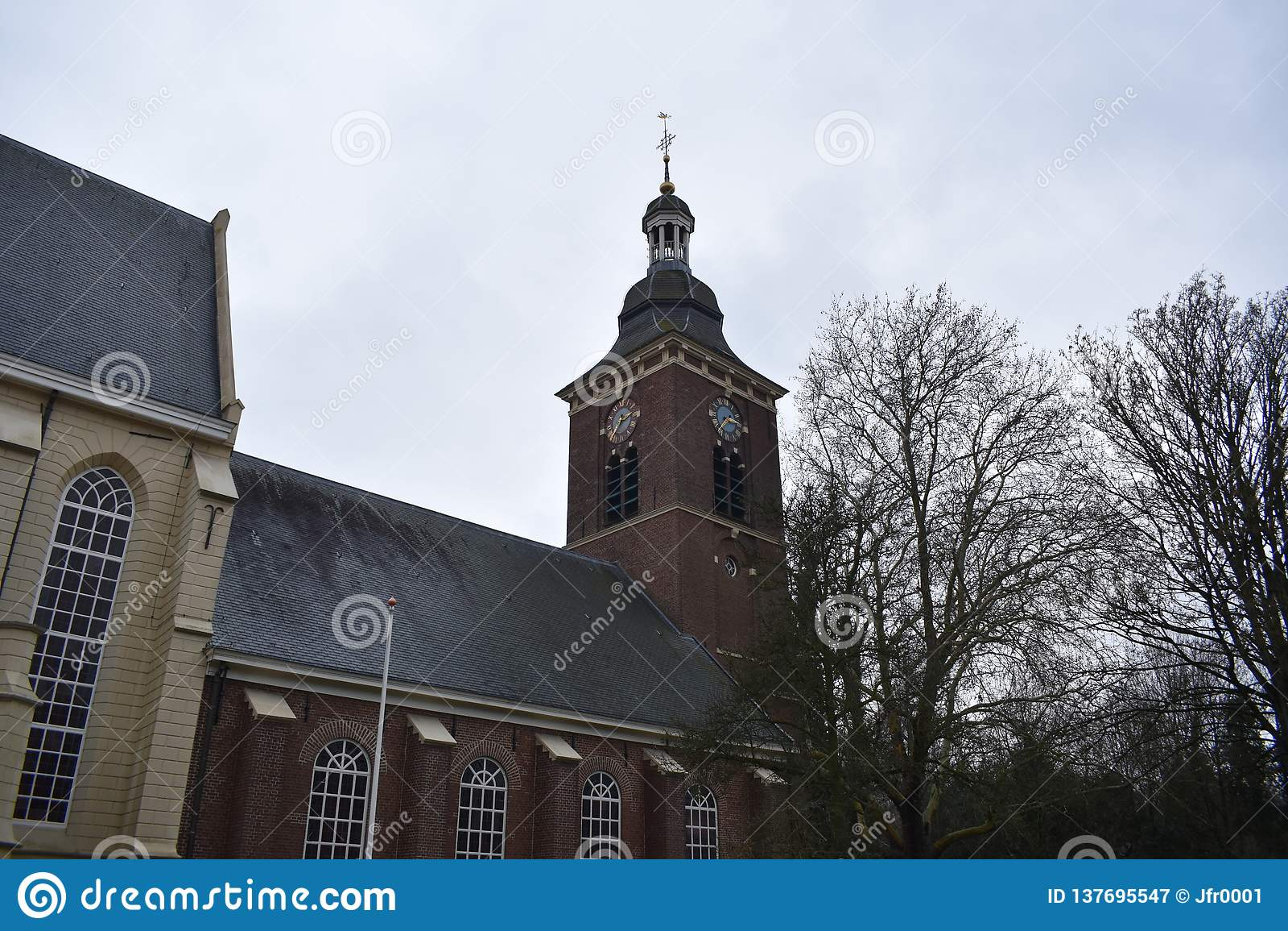 Vieille église hollandaise