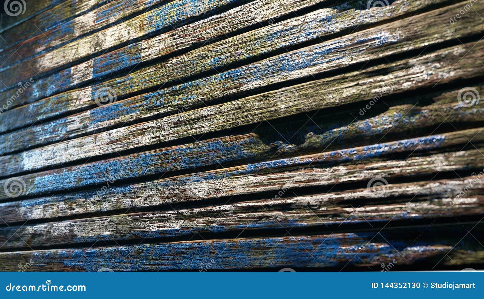 Vieille apocalypse en bois de fond de texture