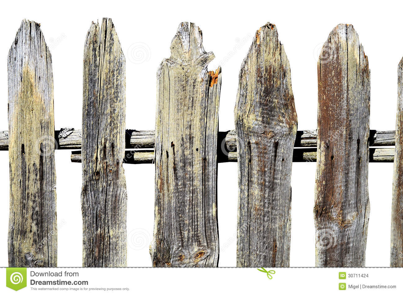 Vieille barri re en bois photo stock image du objet 30711424 - Barriere en bois ...