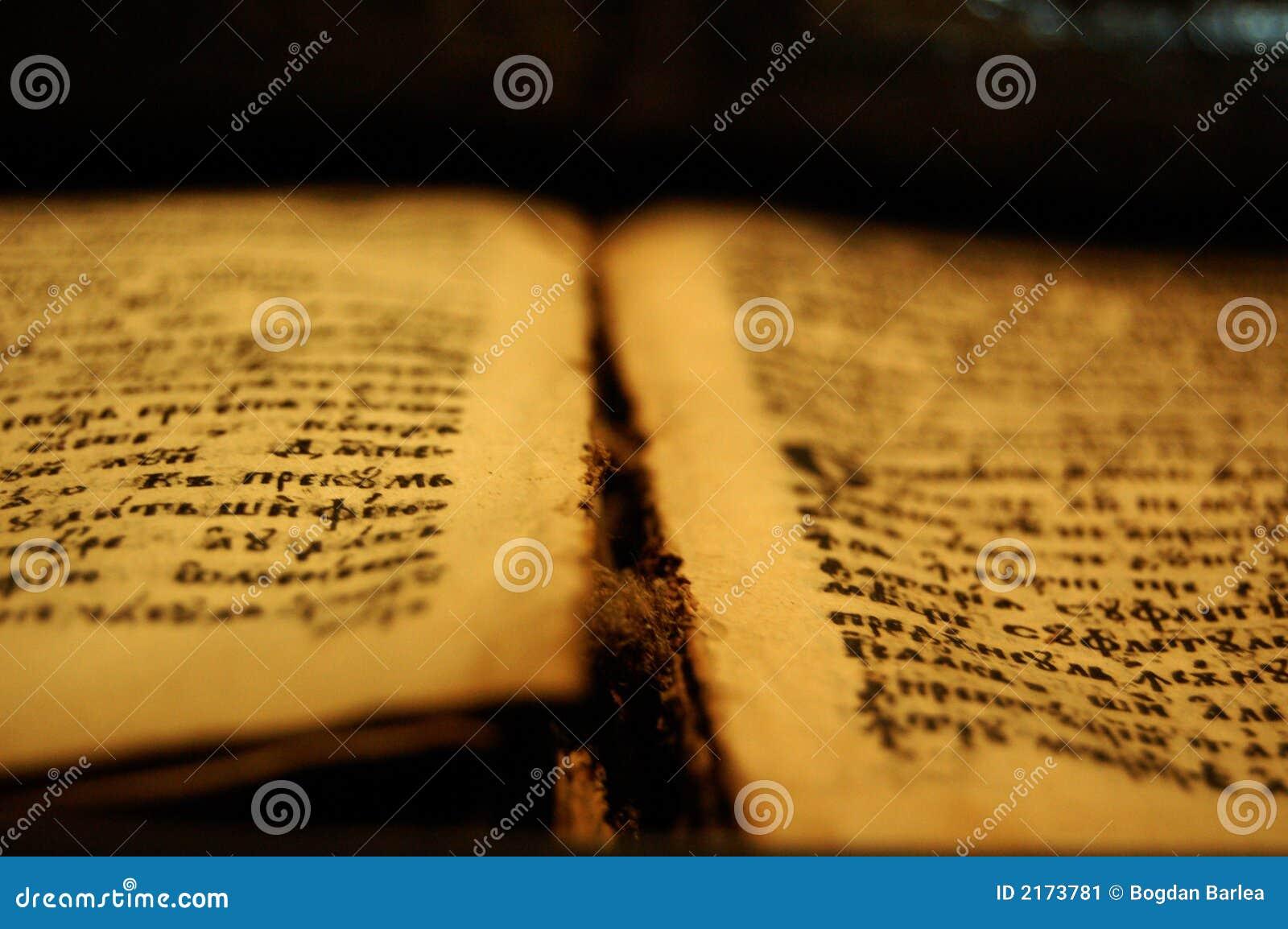 Vieille bible