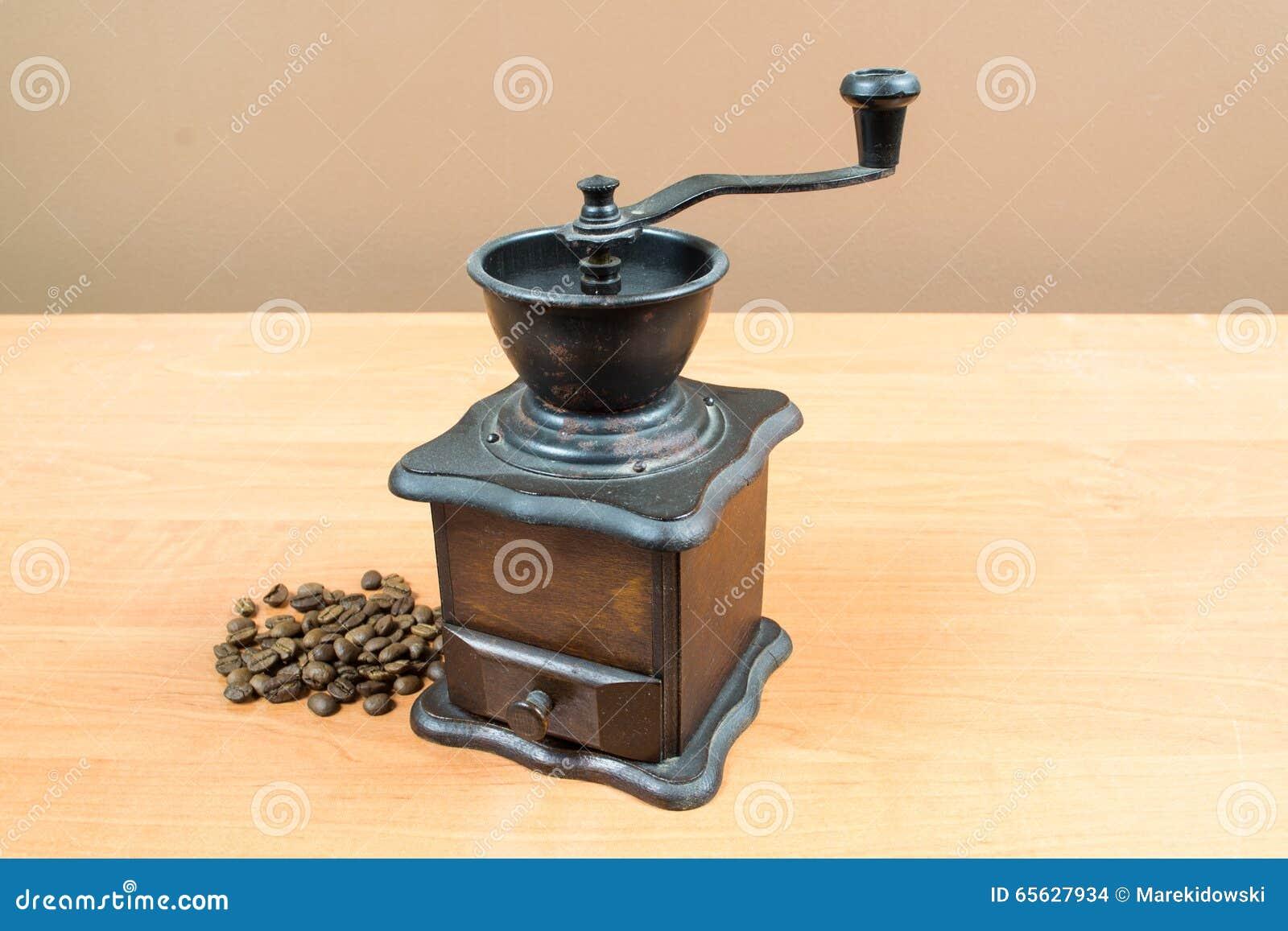 Vieille broyeur de café