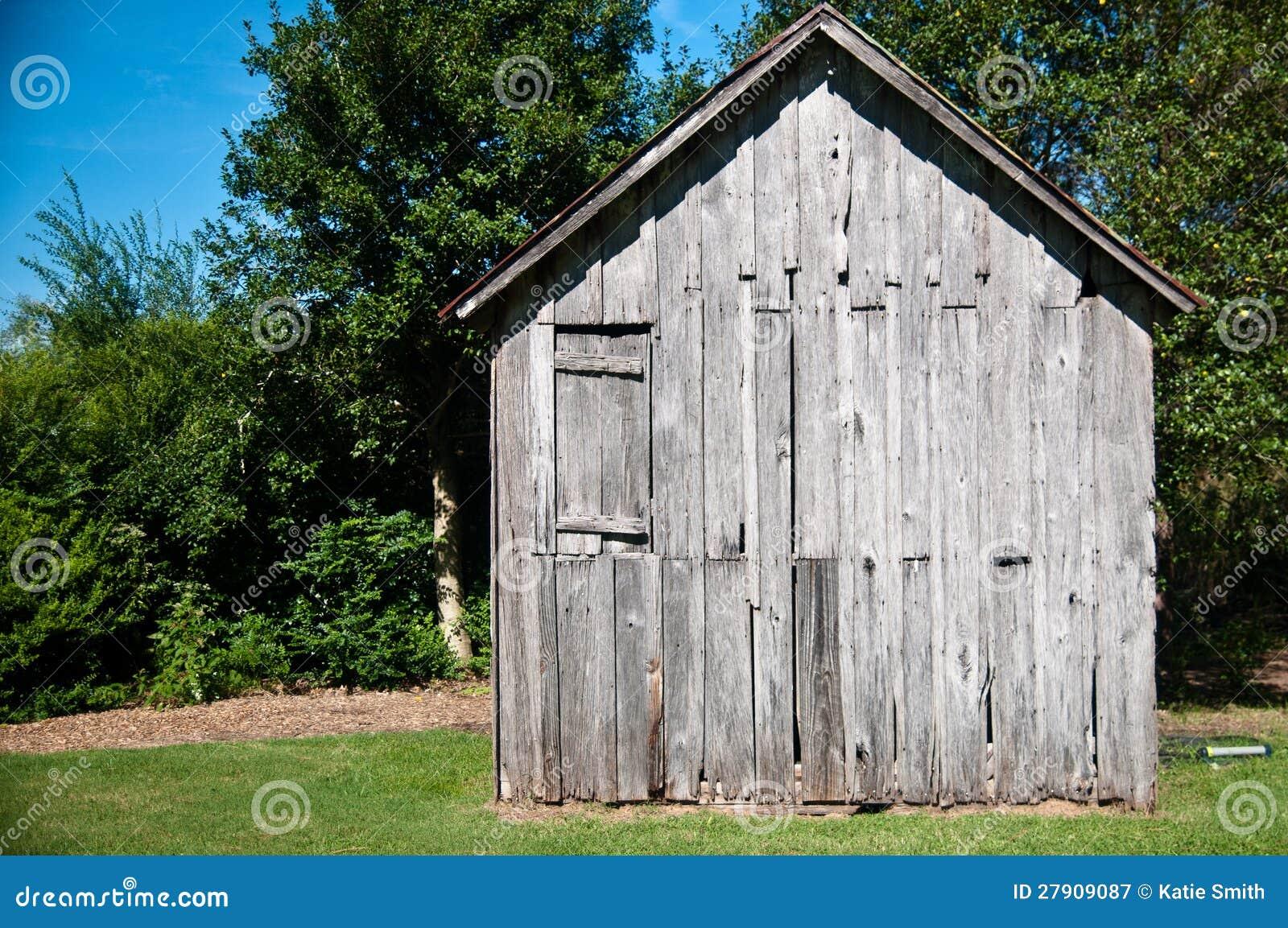 Vieille cabane en bois photographie stock libre de droits image 27909087 - Porte cabane bois ...