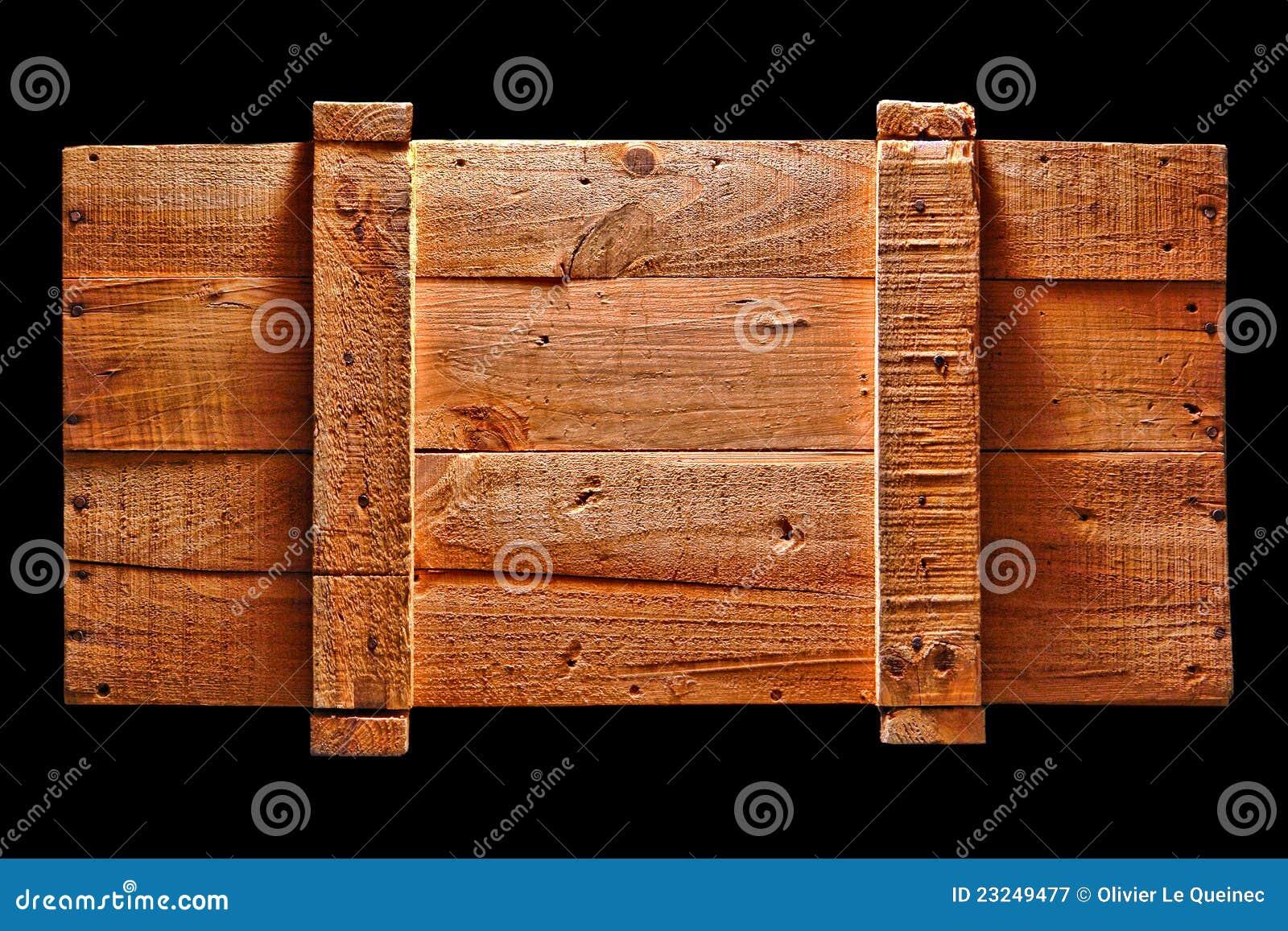Photographie stock libre de droits Vieille caisse en bois antique d  ~ Vieille Caisse En Bois