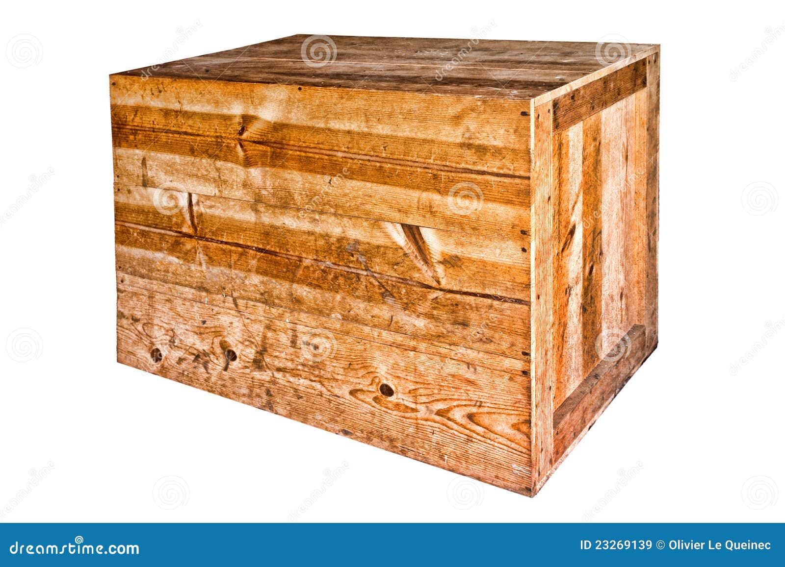 Vieille caisse lourde en bois d 39 exp dition images libres - Vieilles caisses en bois a vendre ...