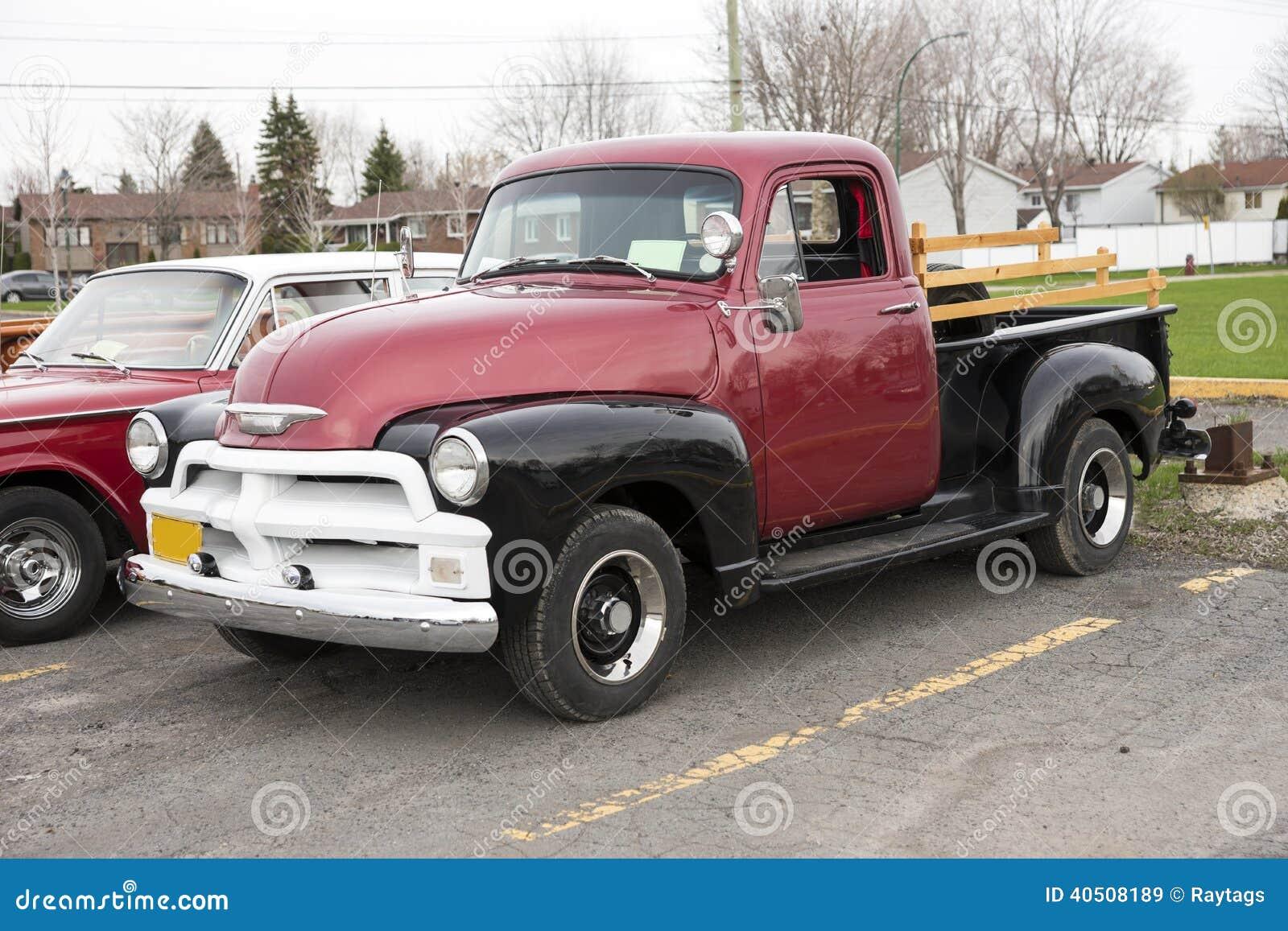vieille camionnette de livraison image stock image du r tro noir 40508189. Black Bedroom Furniture Sets. Home Design Ideas
