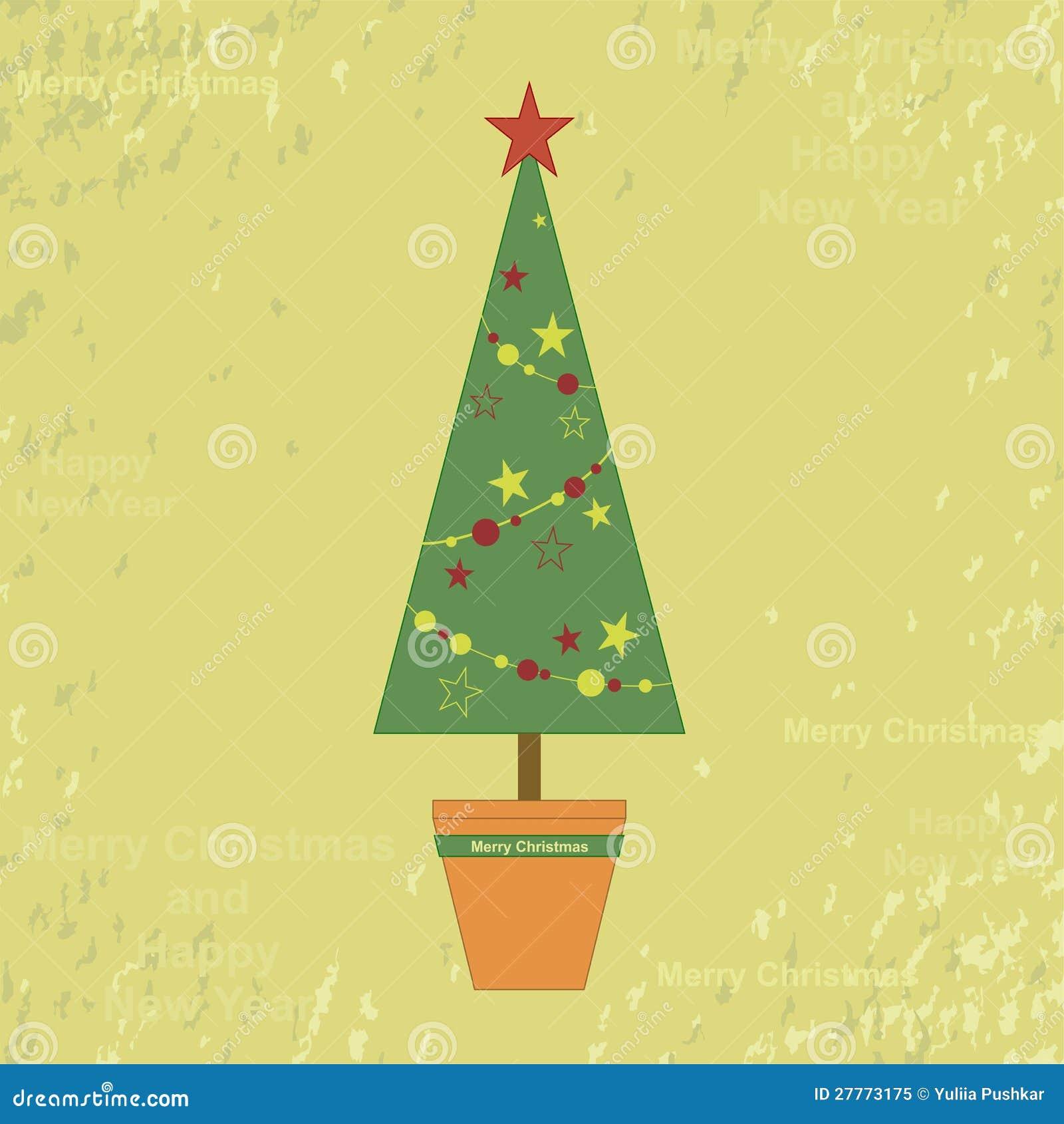 Vieille carte de Noël