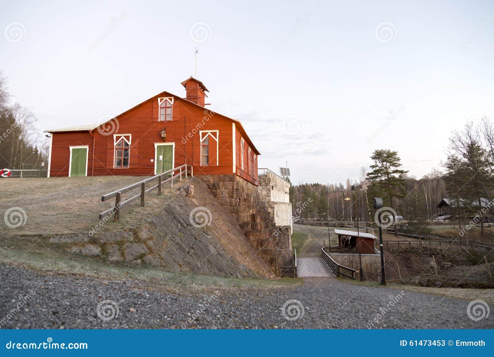 Vieille centrale en Suède