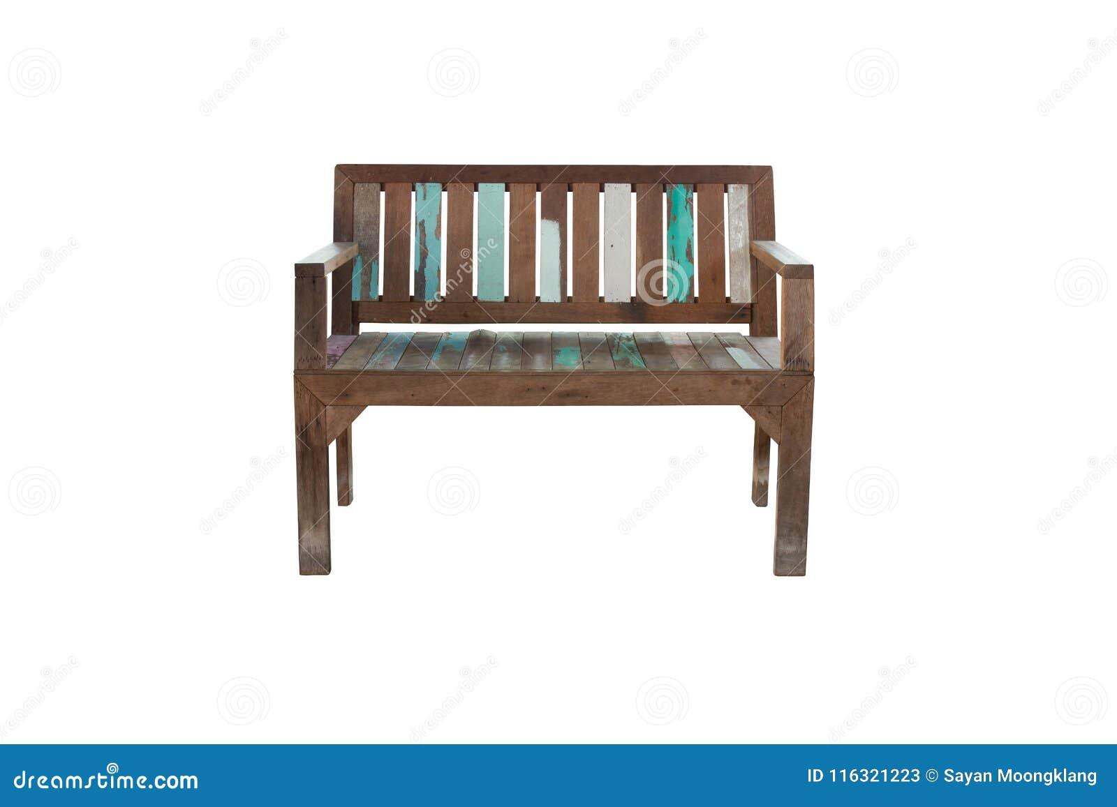 Vieille Chaise Ou Banc En Bois Pour Lallocation Des Places
