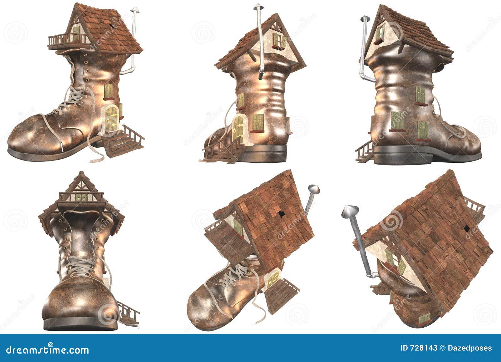 Vieille Chambre de chaussure du conte de fées 641