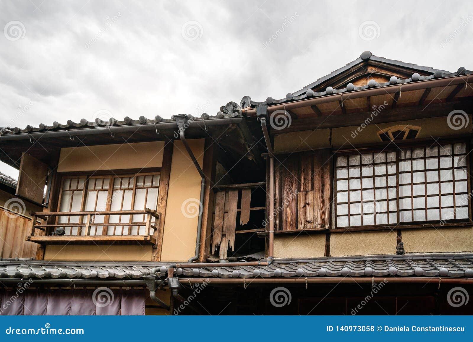 Vieille Chambre Japonaise Traditionnelle Dans Gion, Kyoto ...