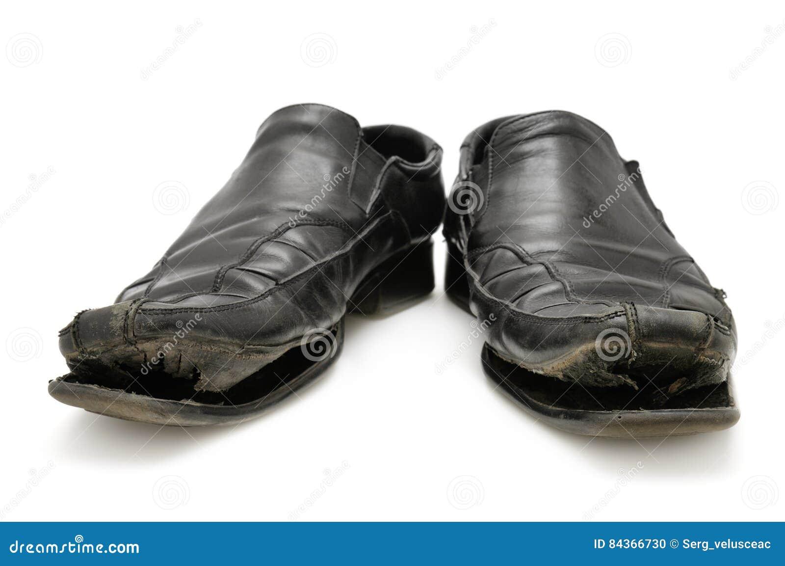 Vieille chaussure d isolement