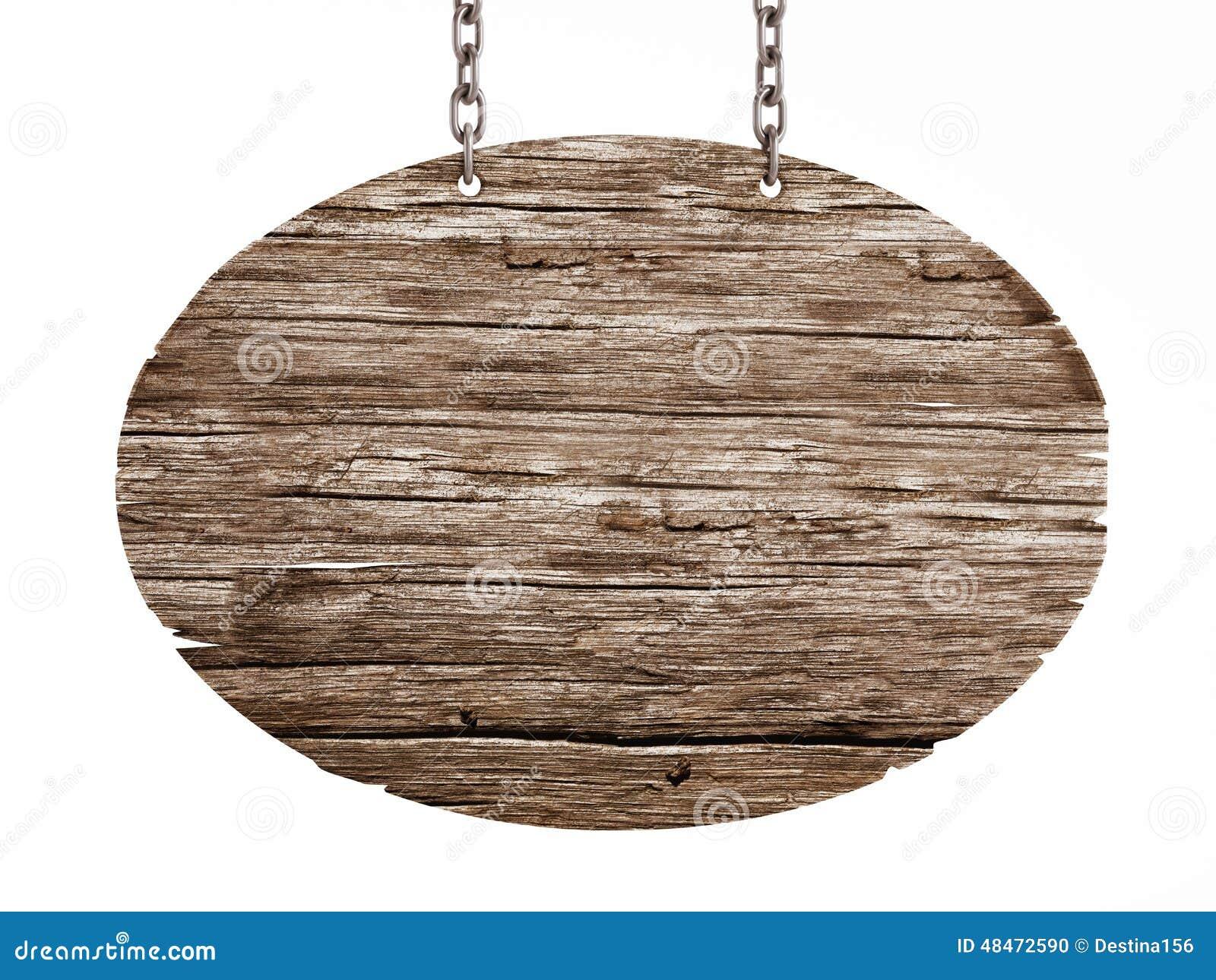 Vieille enseigne en bois illustration stock Illustration du isolement 48472590 # Enseigne En Bois Personnalisé
