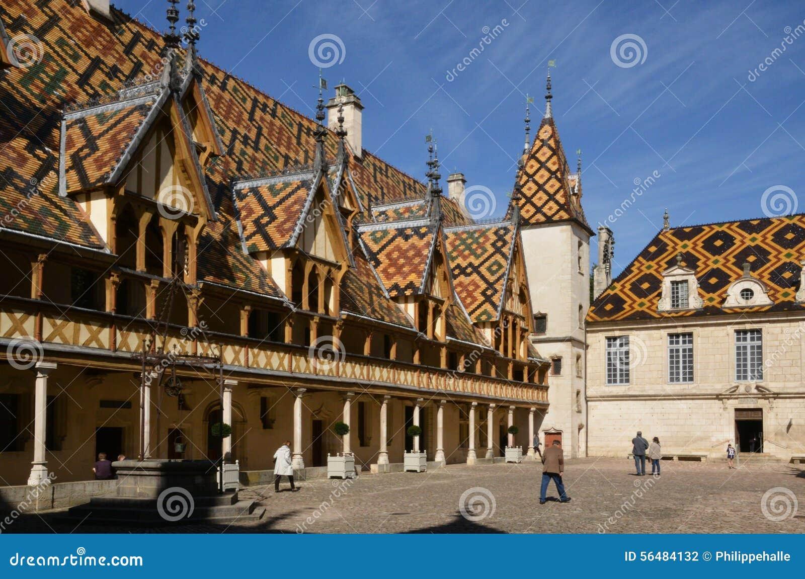 Vieille et pittoresque ville de Frances, de Beaune