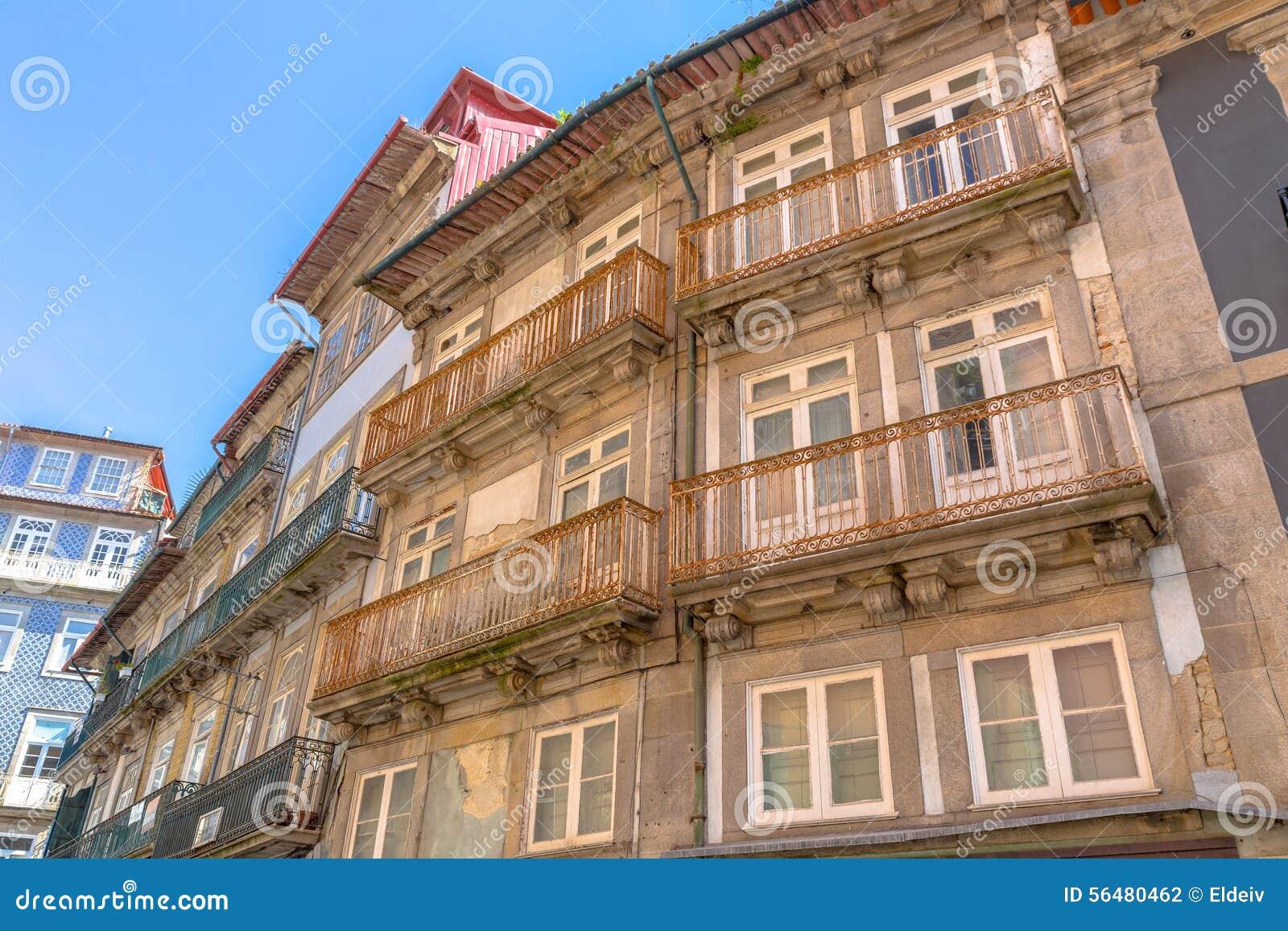 Vieille façade de Porto