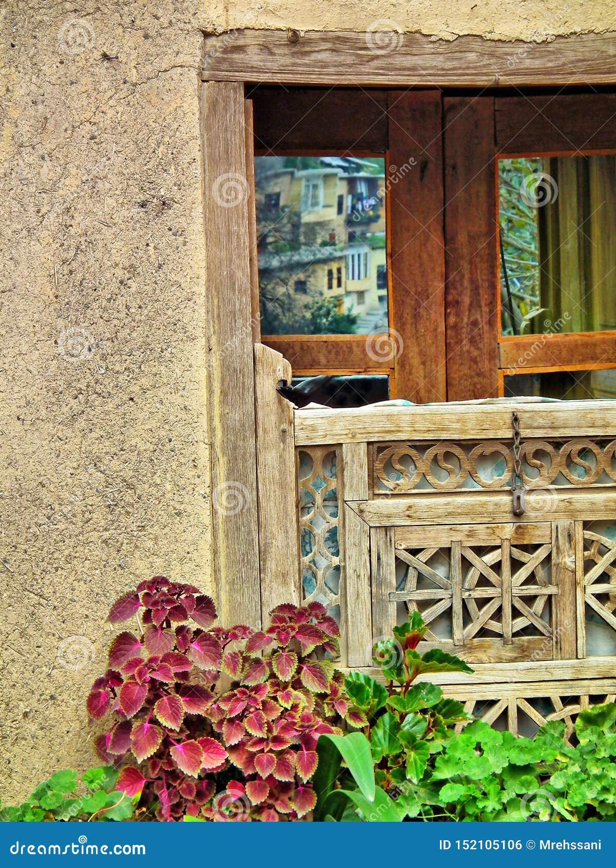 Vieille fenêtre dans Masouleh