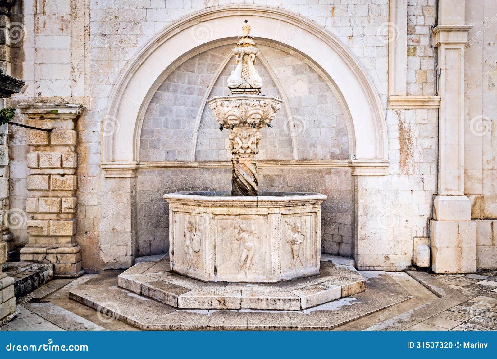 Vieille fontaine de la renaissance l 39 int rieur de for Petite fontaine interieur