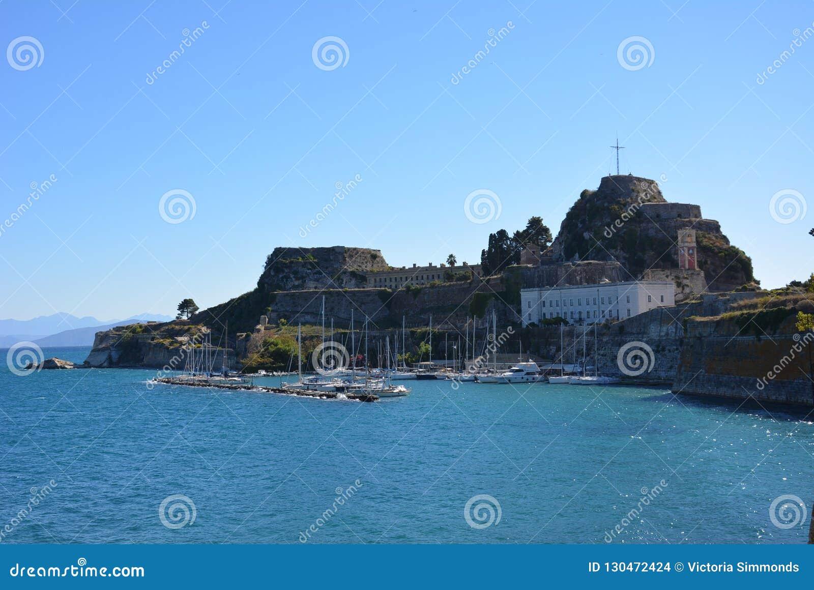 Vieille forteresse, ville de Corfou
