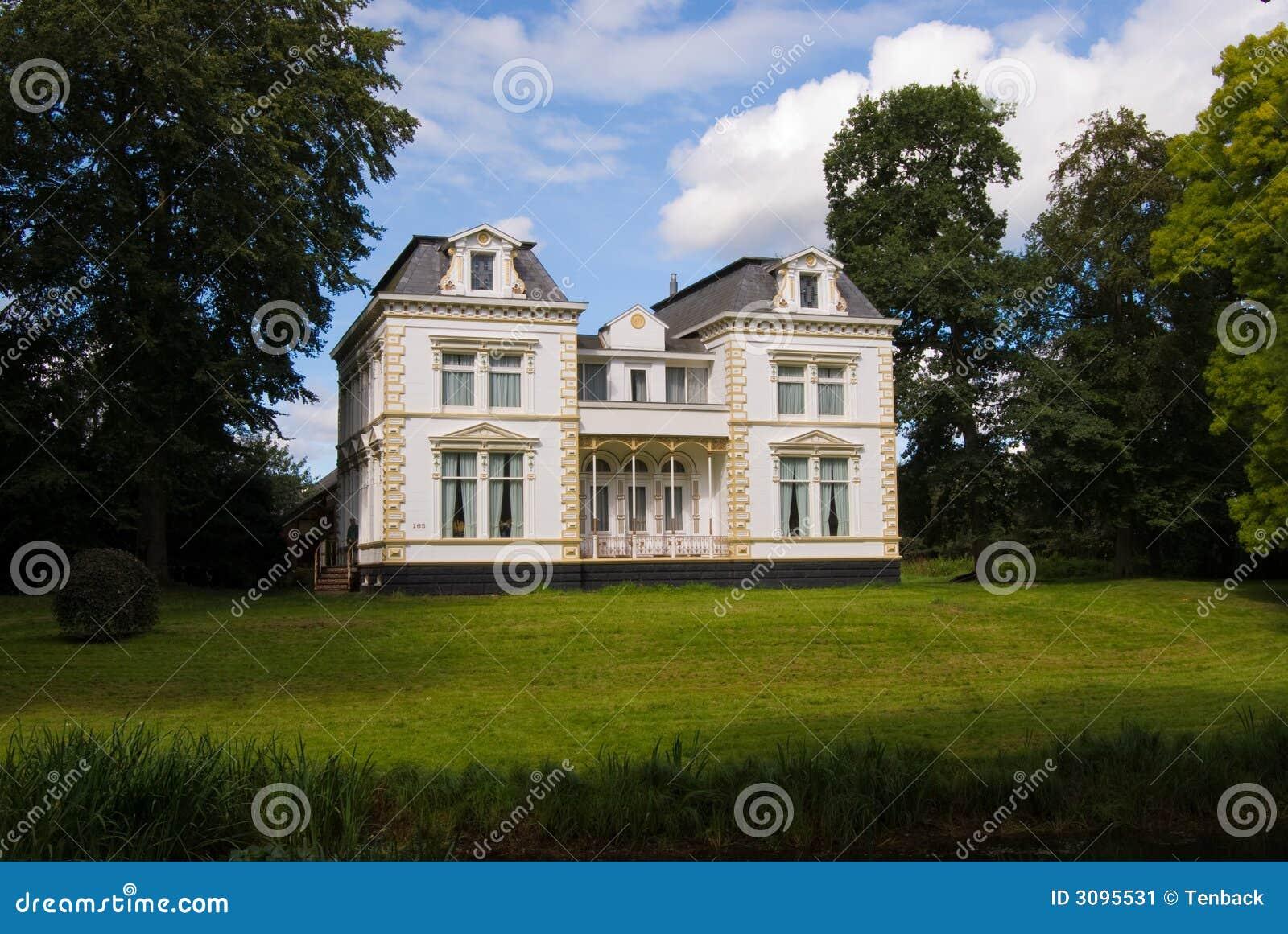 vieille grande maison de luxe image stock image 3095531