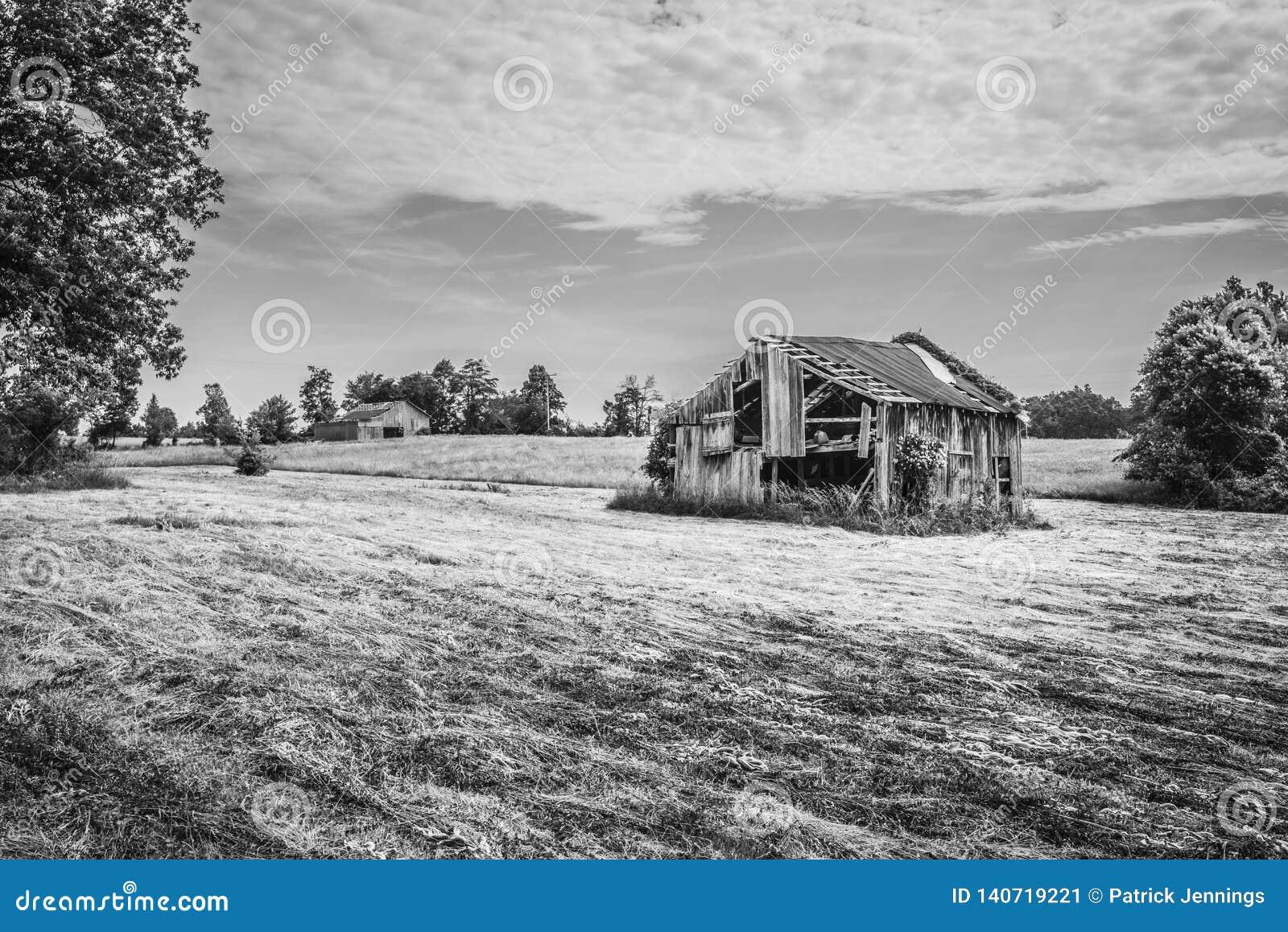 Vieille grange dans Hayfield