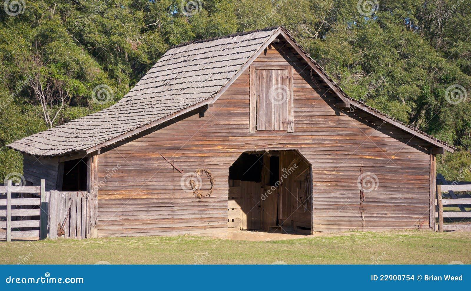 vieille grange en bois images stock image 22900754