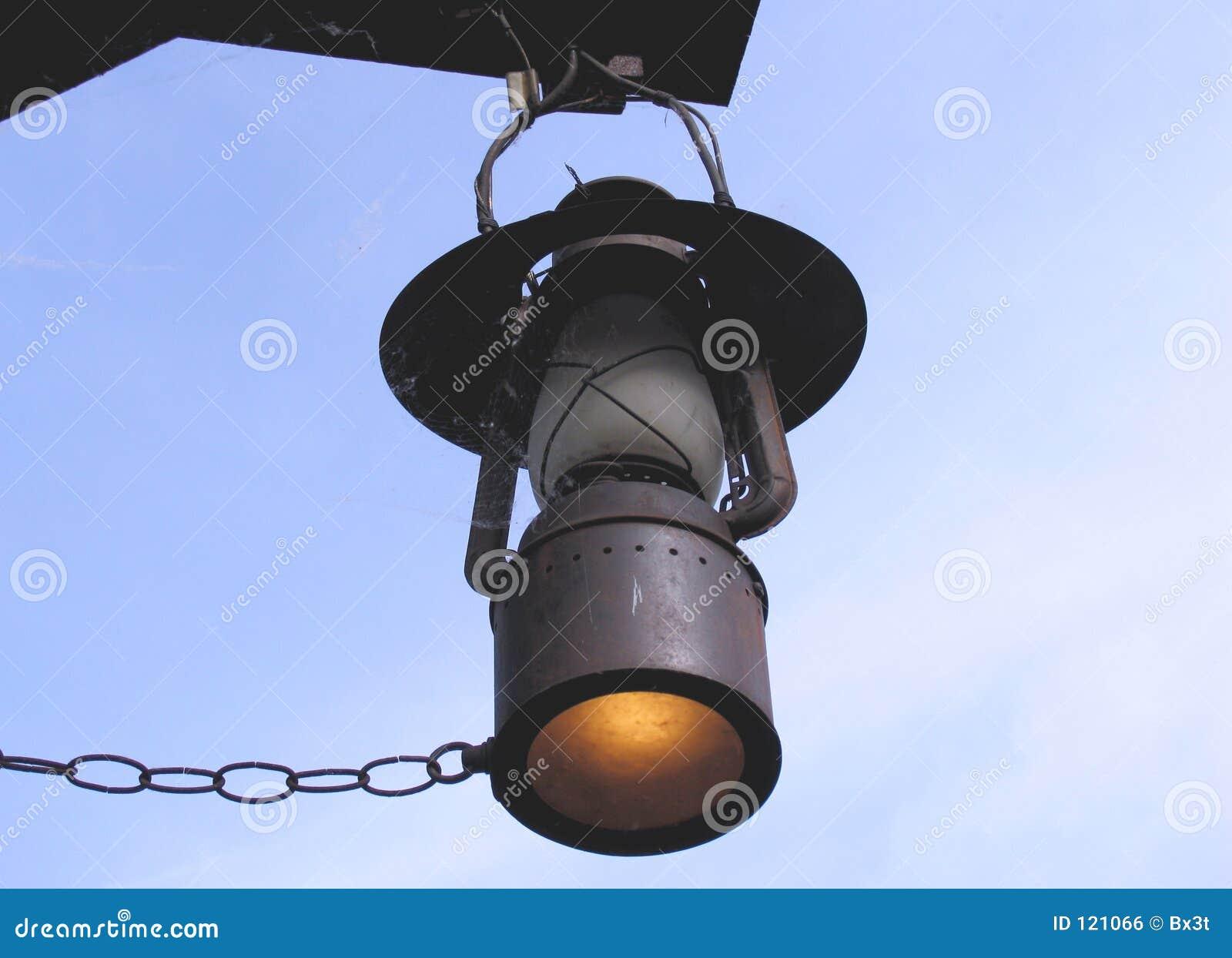 vieille lampe de gaz photo stock image du lampe coup 121066. Black Bedroom Furniture Sets. Home Design Ideas