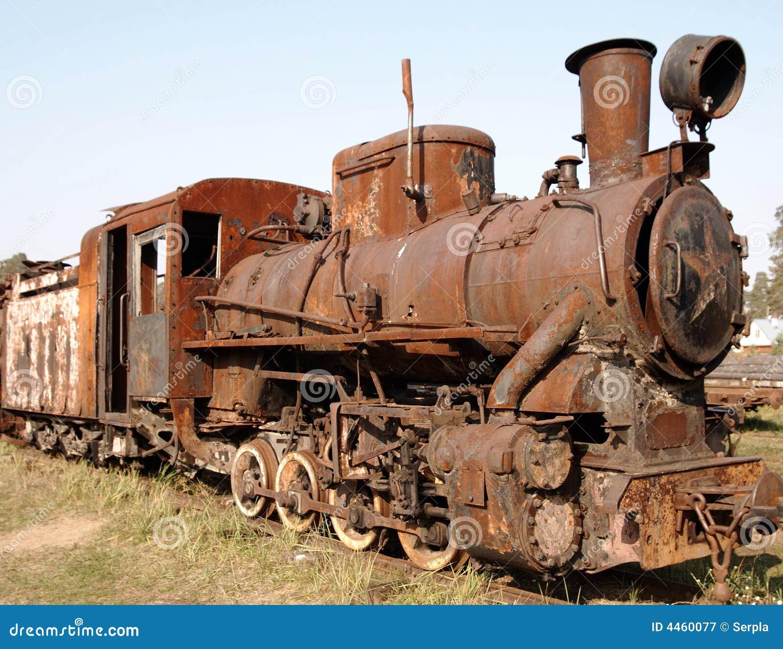 vieille locomotive vapeur image stock image du. Black Bedroom Furniture Sets. Home Design Ideas