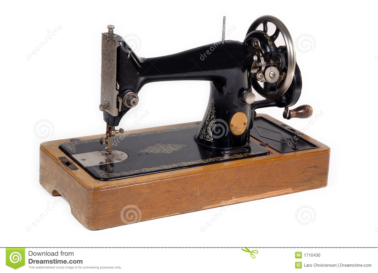 vieille machine 224 coudre photo stock image 1710430