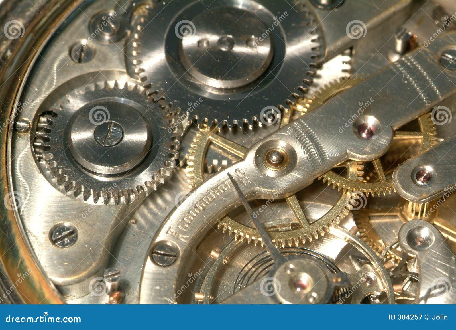 Vieille machine d horloge
