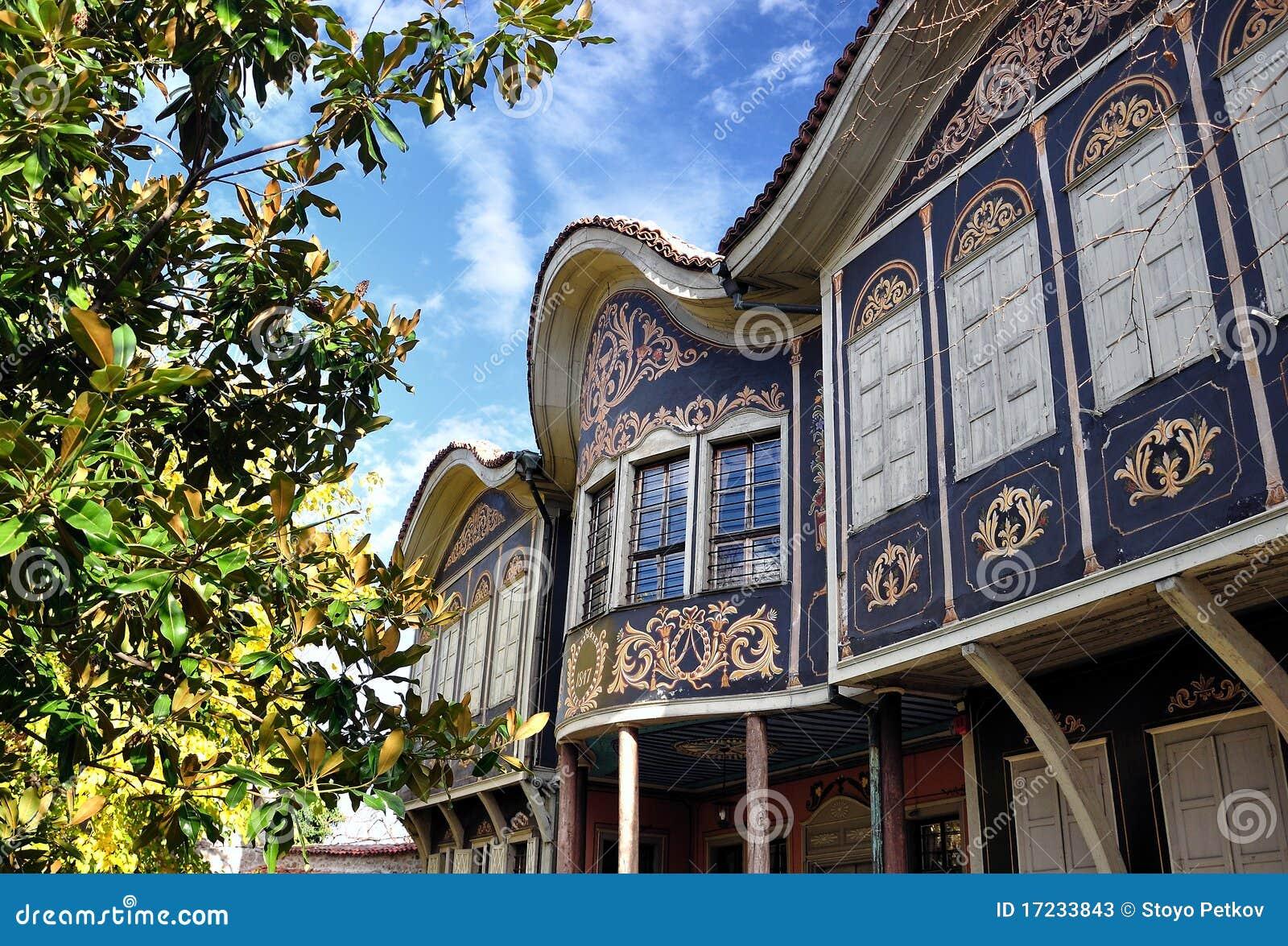 Vieille maison authentique à plovdiv