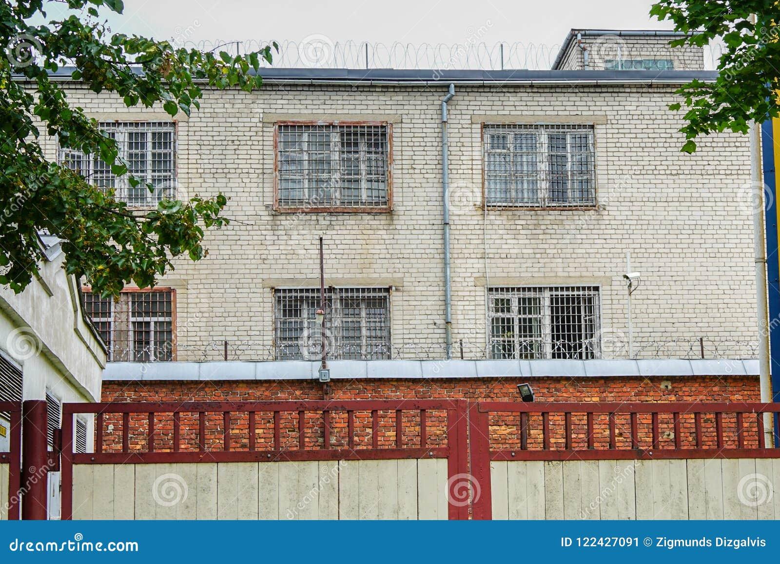 Vieille maison de prison fonctionnante toujours