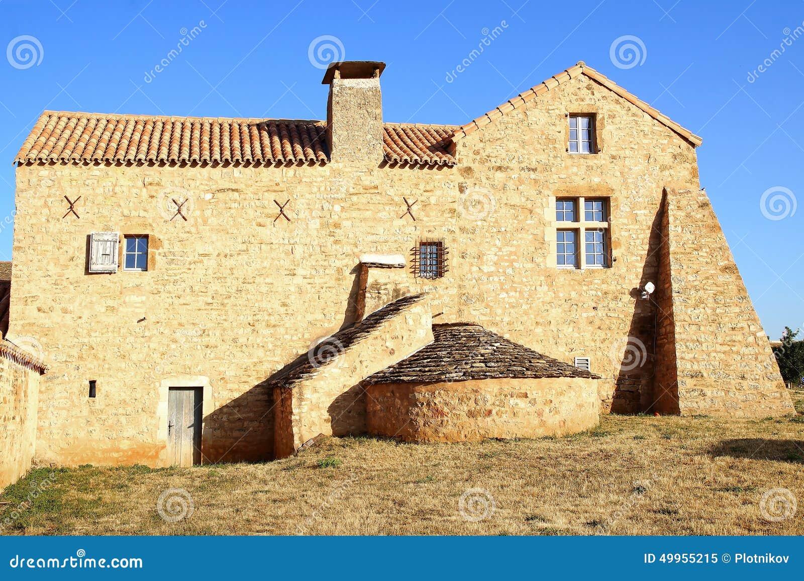 vieille maison fran aise traditionnelle photo stock image 49955215. Black Bedroom Furniture Sets. Home Design Ideas