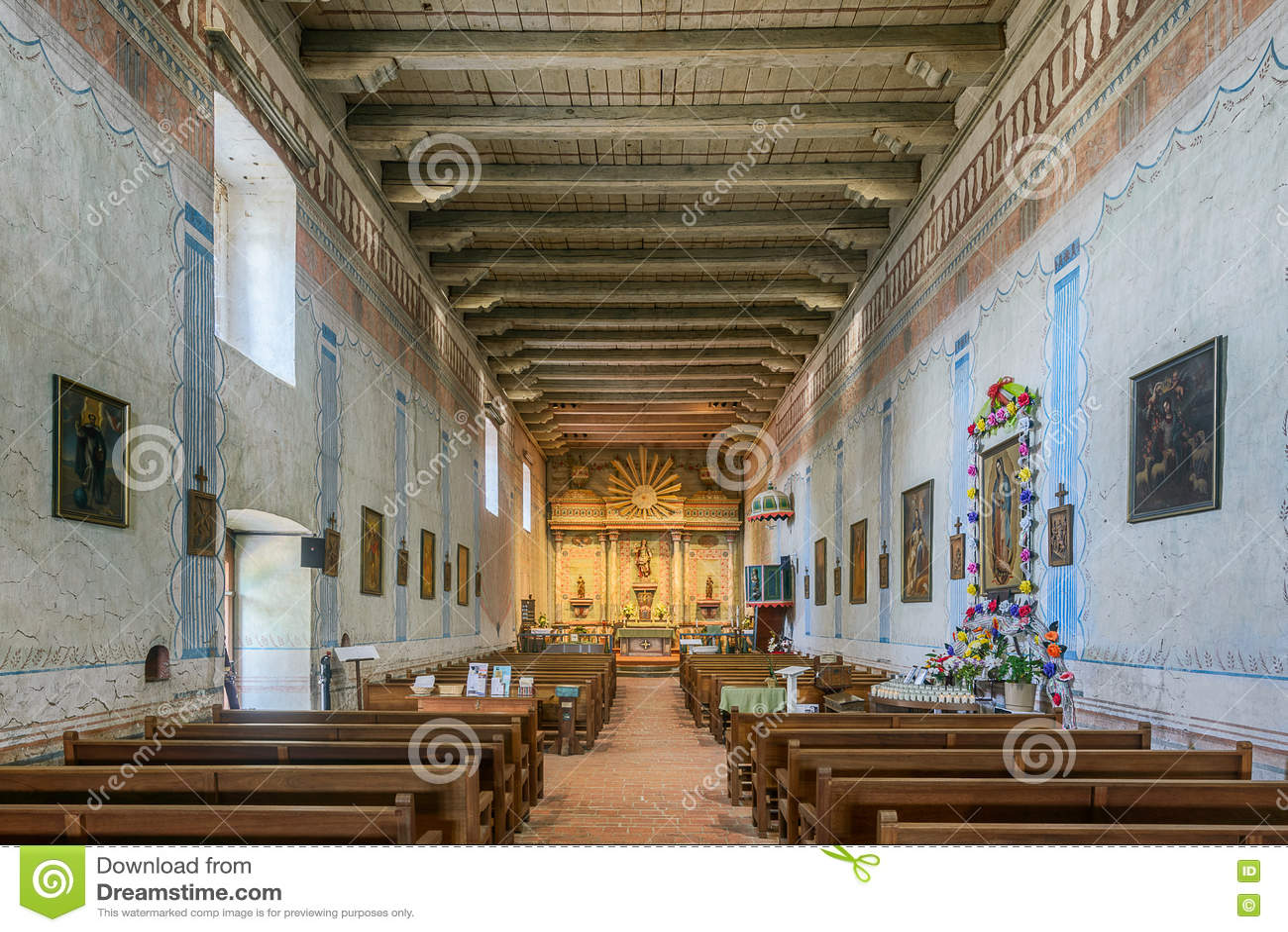 Vieille mission San Miguel