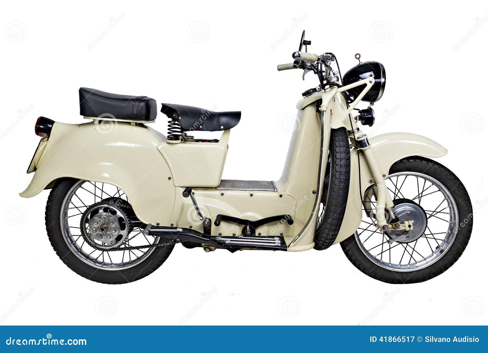 vieille moto photo stock image 41866517. Black Bedroom Furniture Sets. Home Design Ideas