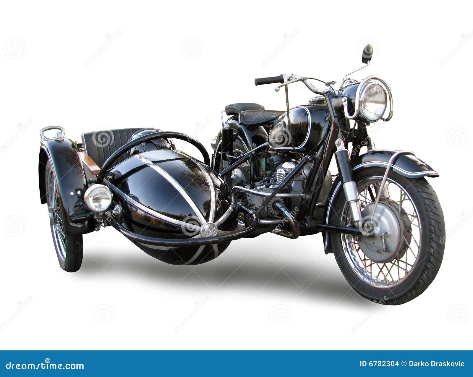 Vieille motocyclette