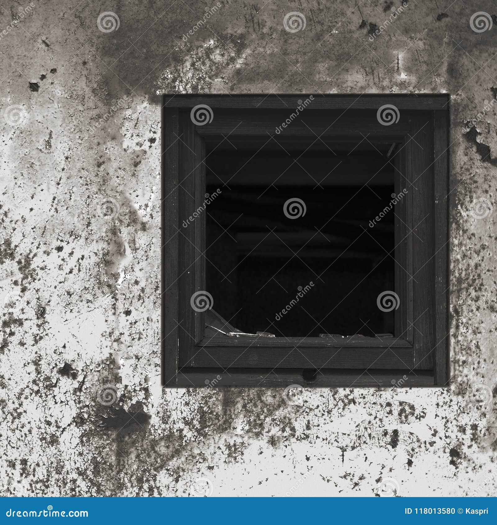 Vieille Peinture Blanche Noire Grise Rouillée âgée De Mur De