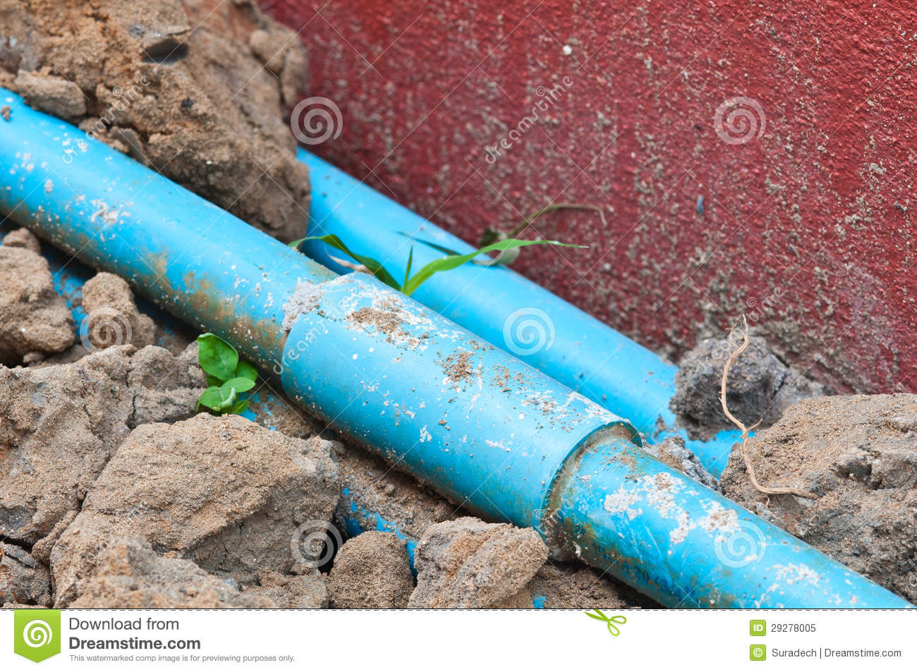 Pipe humide