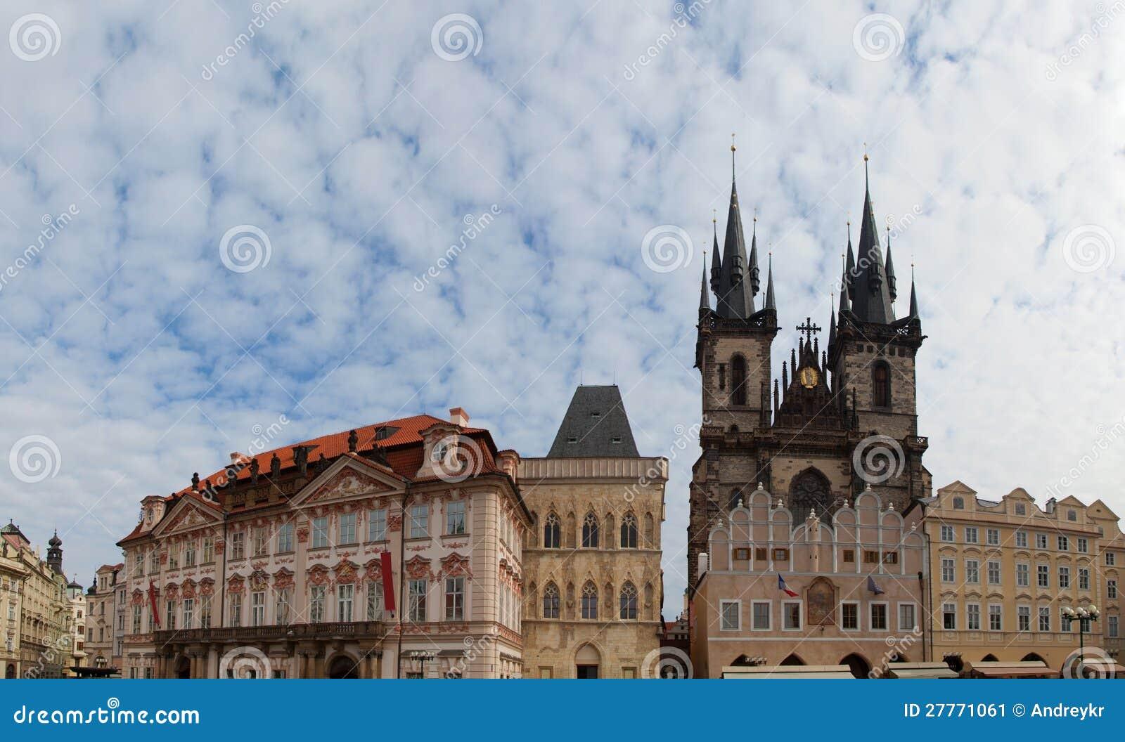 Vieille place à Prague