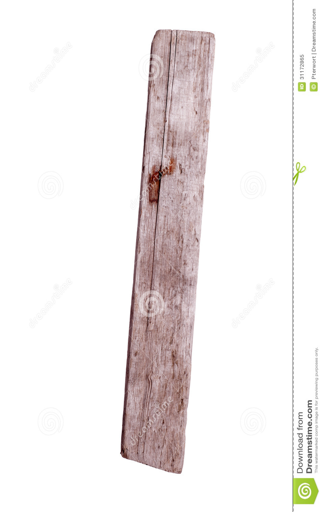 Vieille planche en bois avec le clou rouill photo libre for Vieille planche de bois