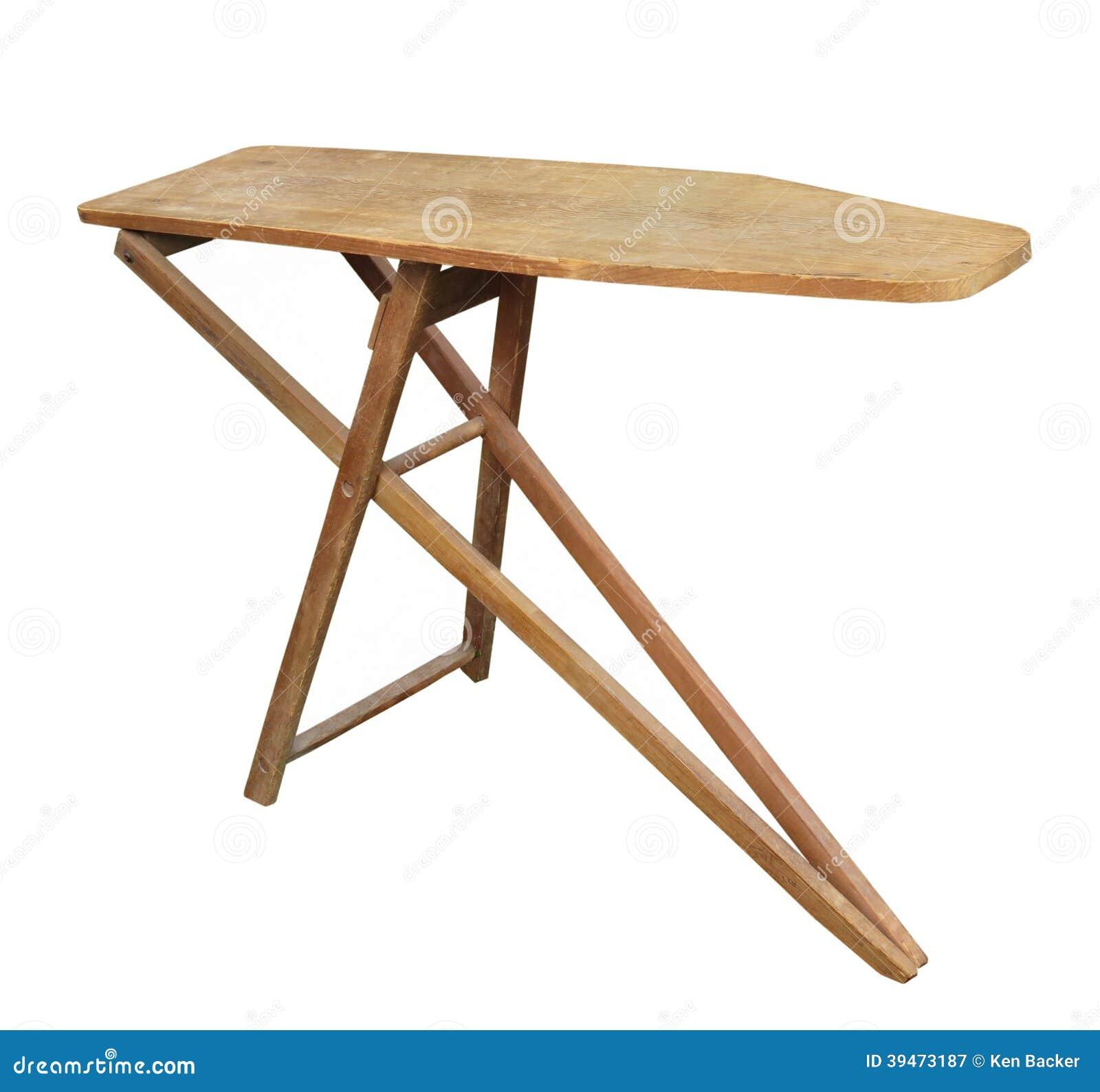 Vieille planche repasser d 39 isolement photo stock for Vieille planche de bois