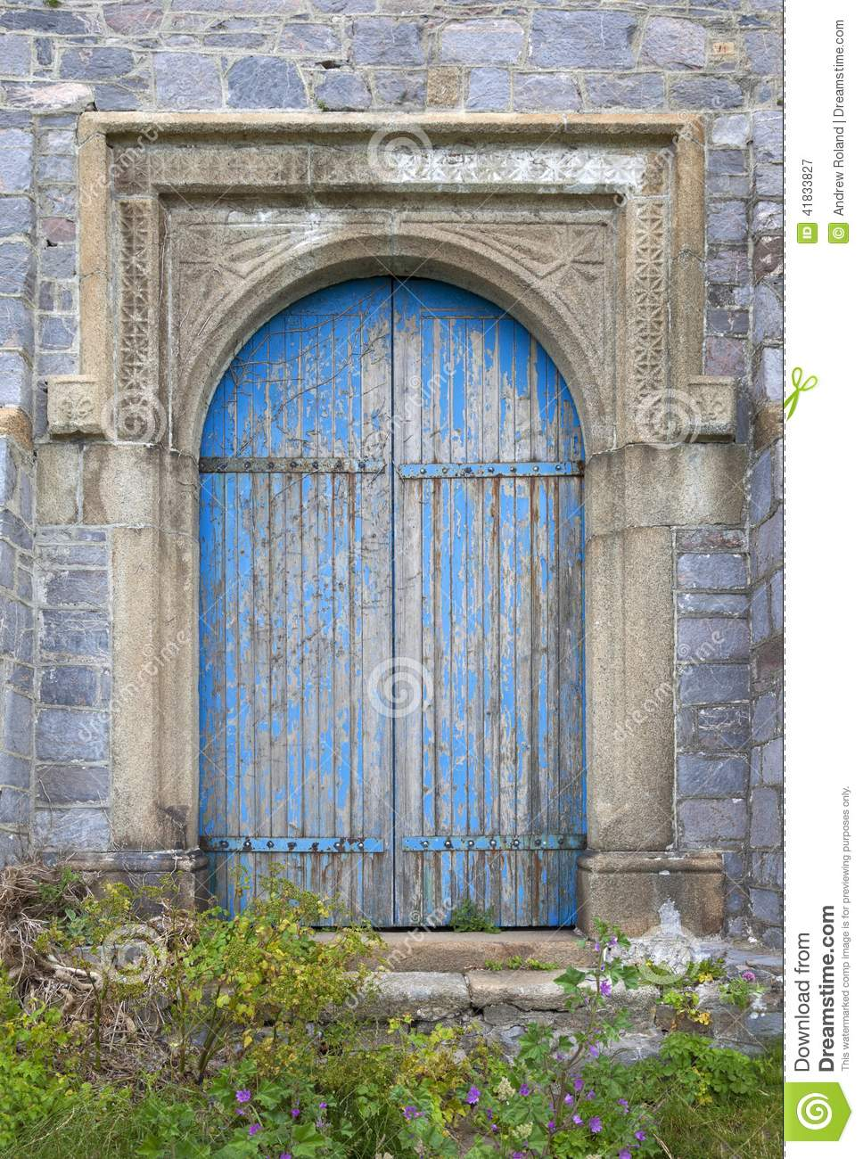 Vieille porte de ch teau photo stock image 41833827 for Vieille porte de ferme